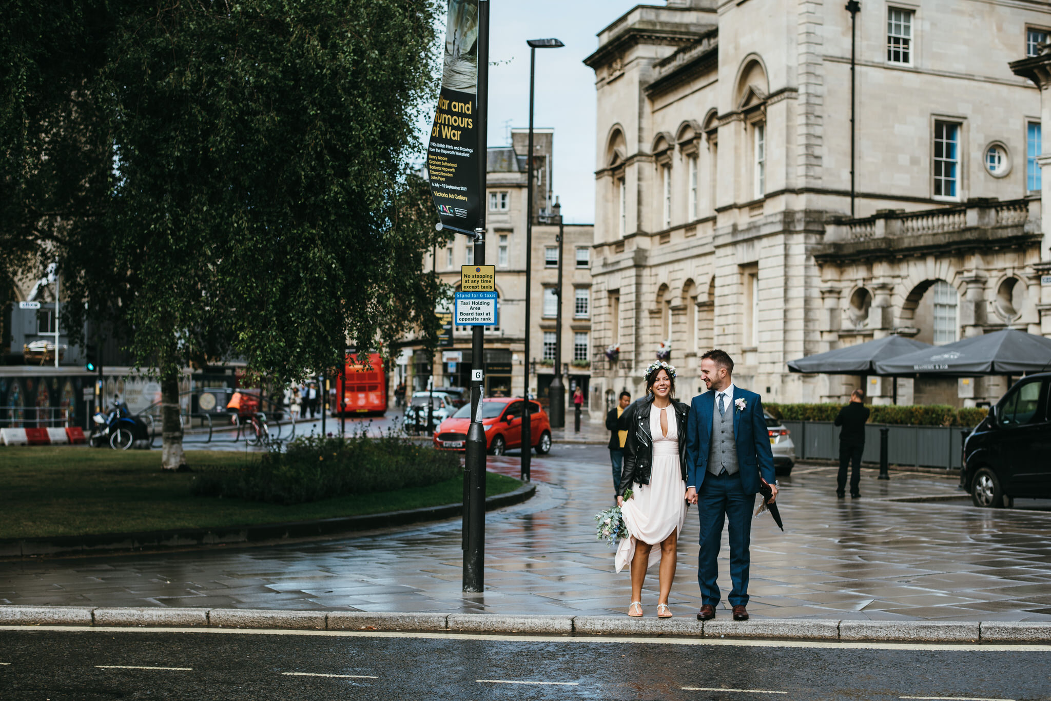 Bath guildhall intimate wedding photography 1