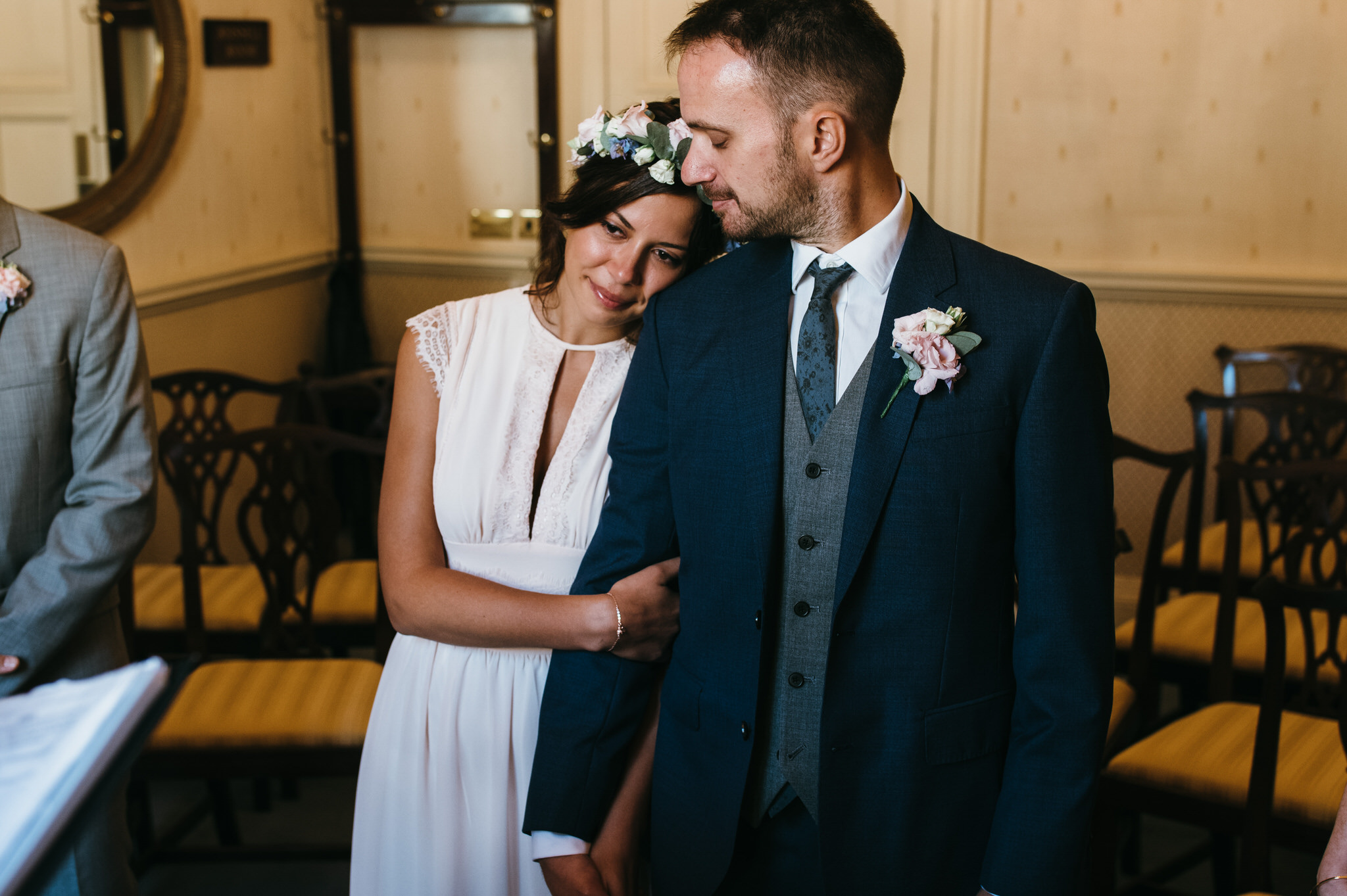 Bath guildhall intimate wedding photography 15