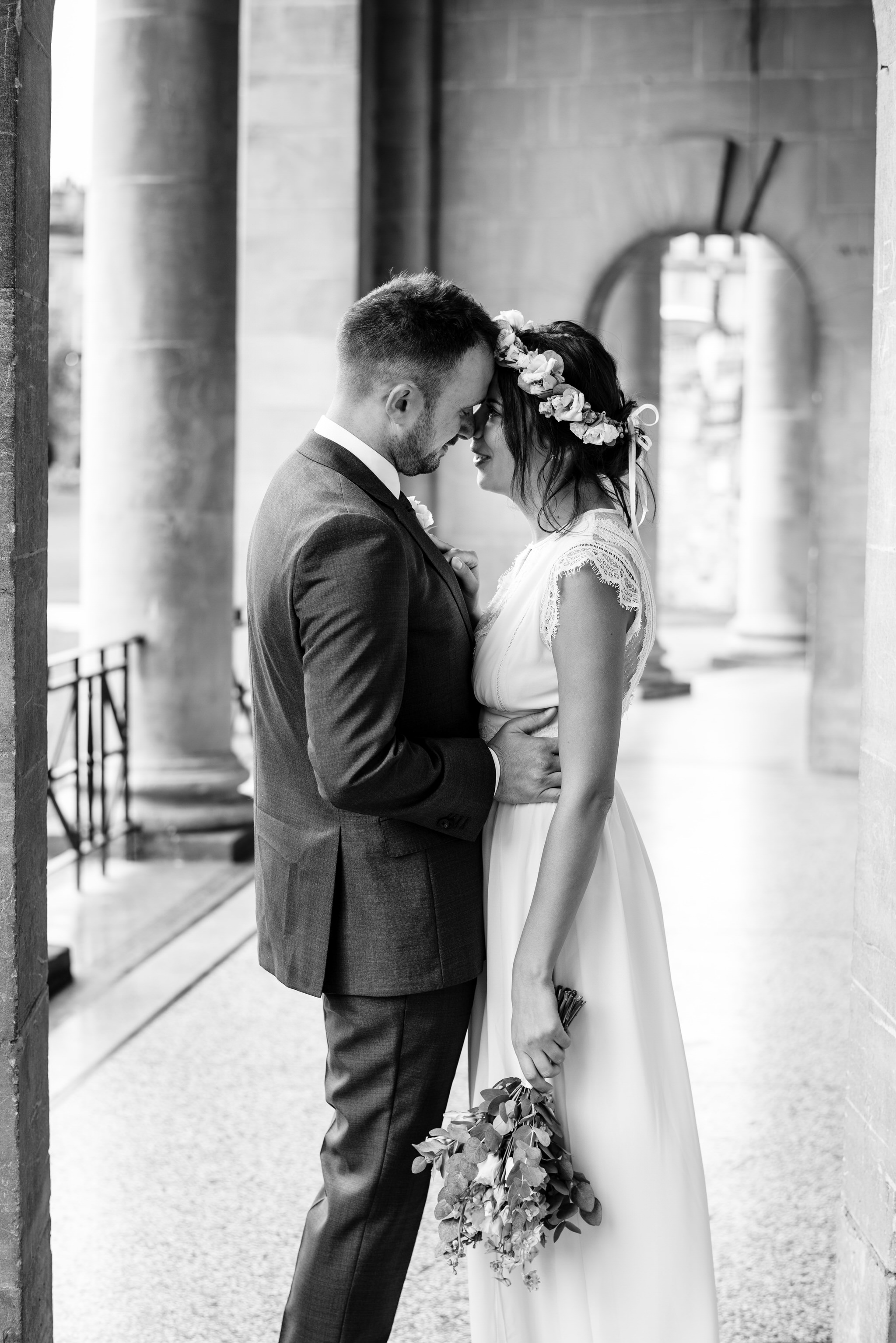 Bath guildhall intimate wedding photography 5