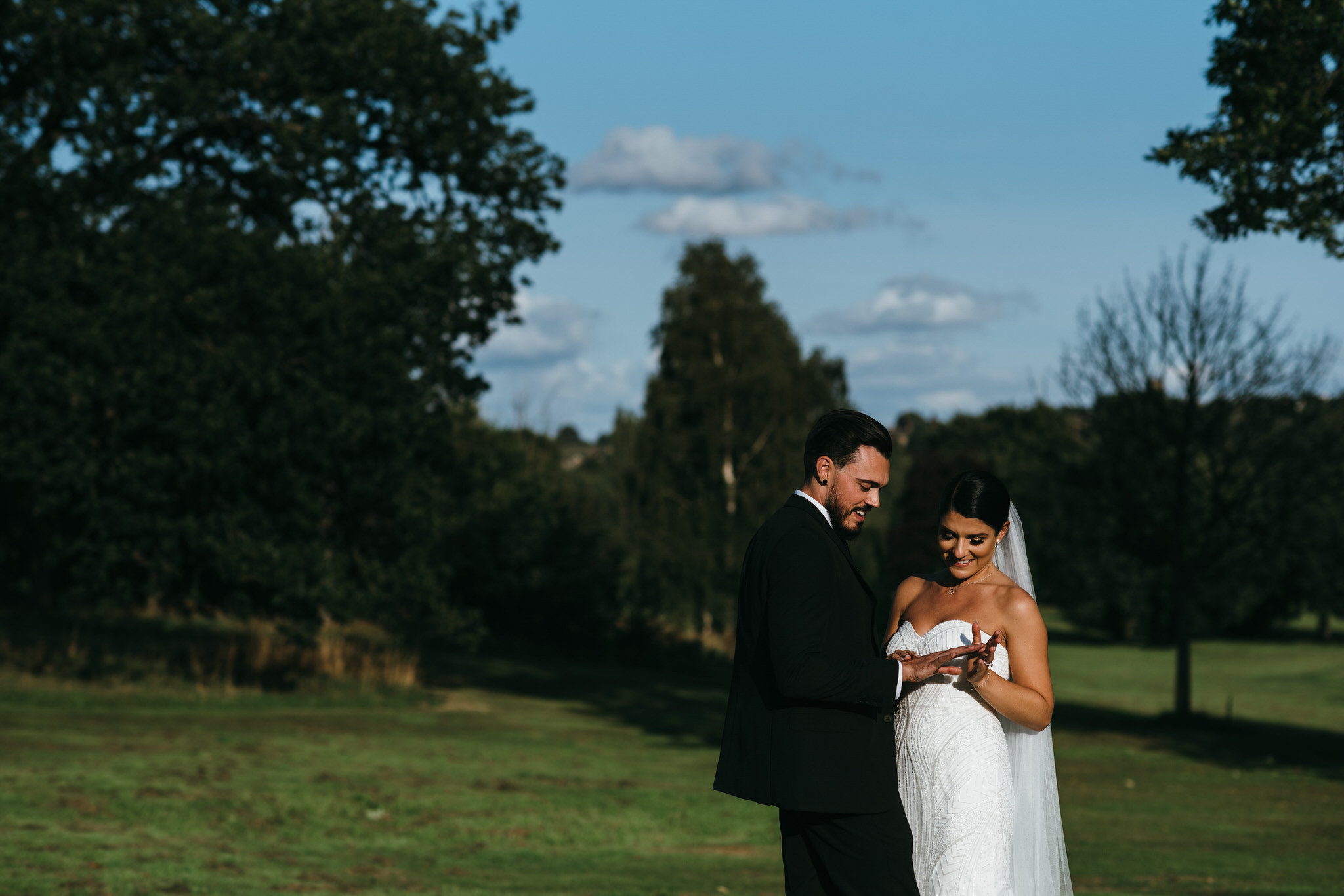 Best Cannon Hall wedding photographer