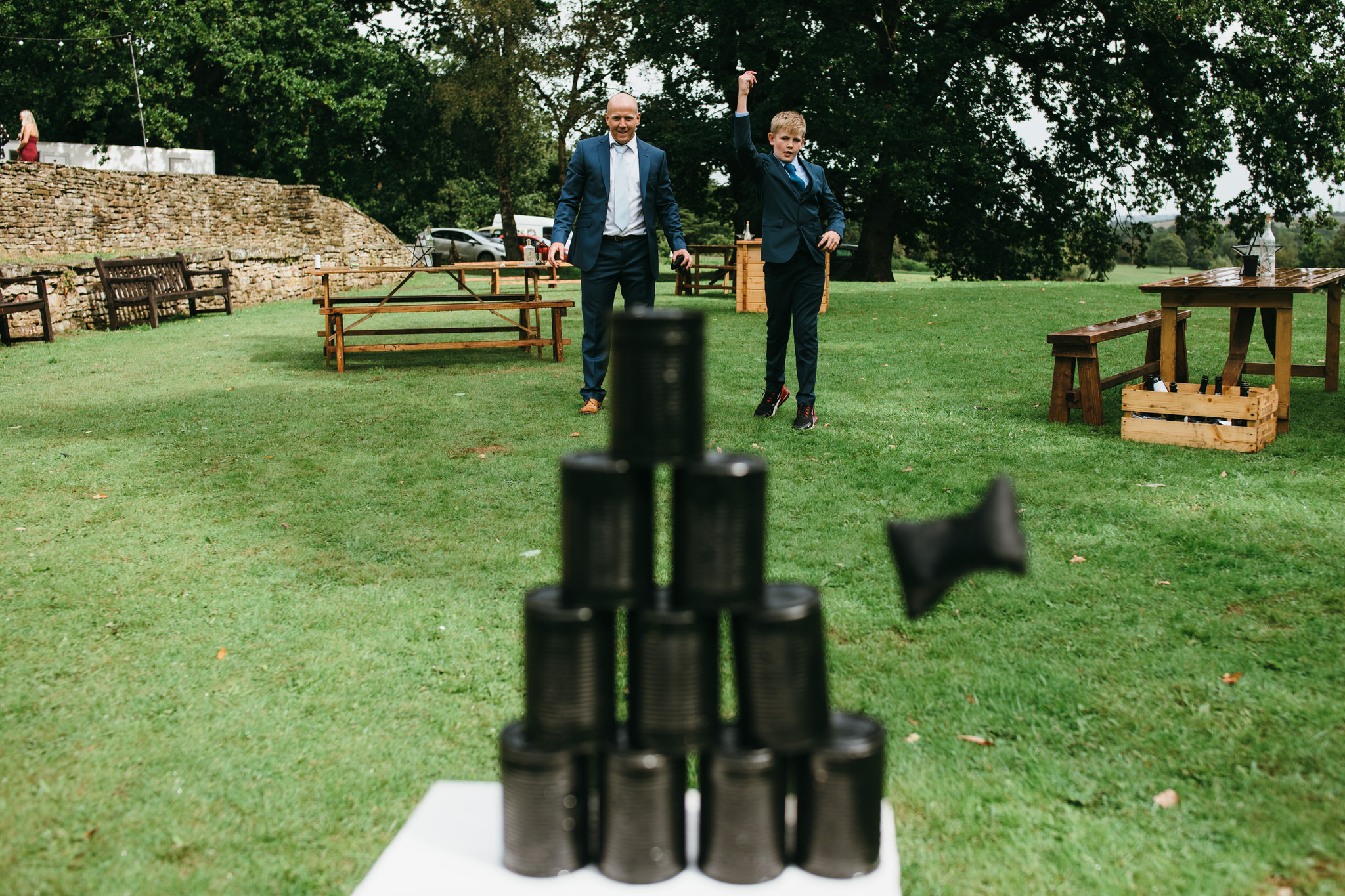 Games at wedding