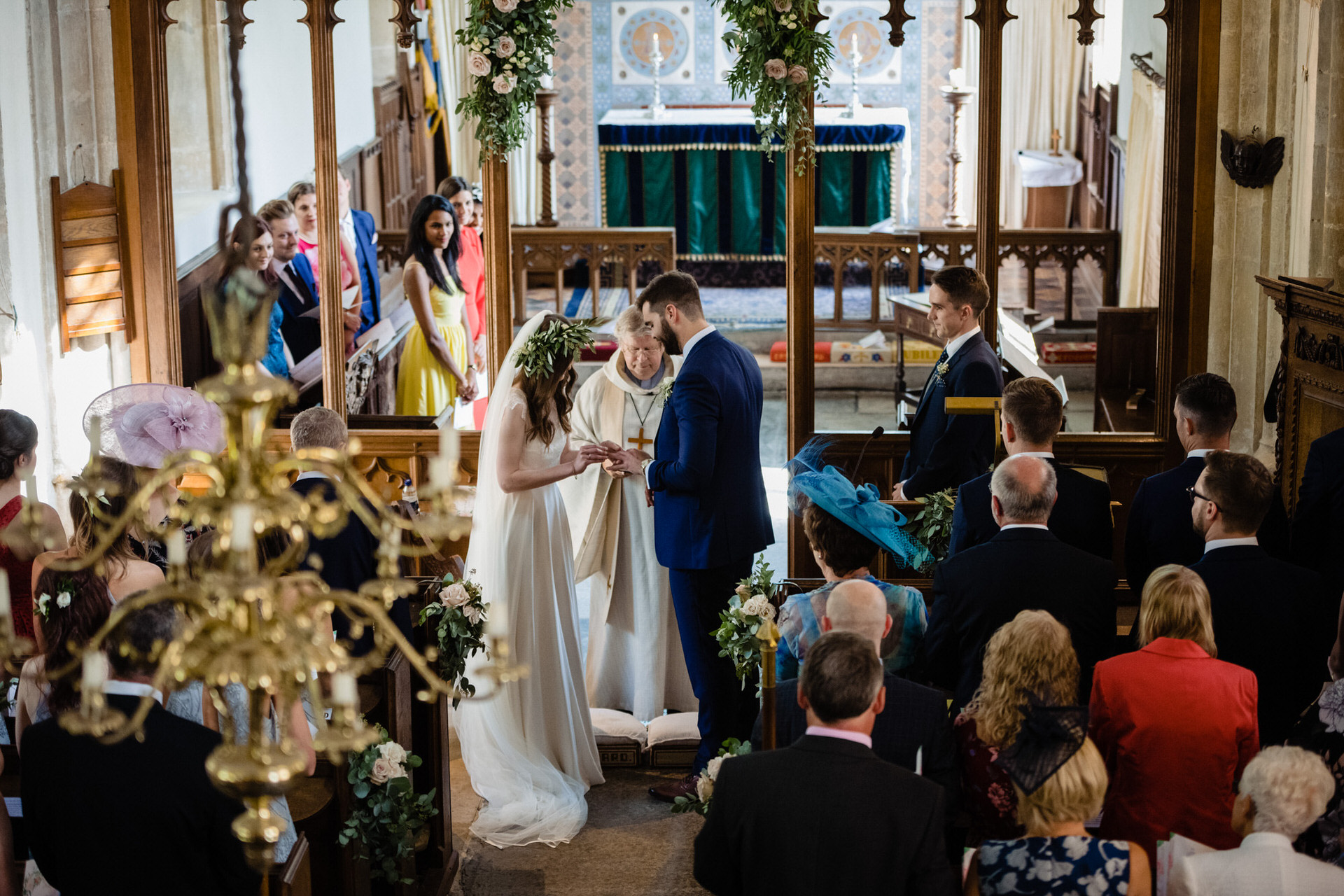 East Pennard church wedding photography