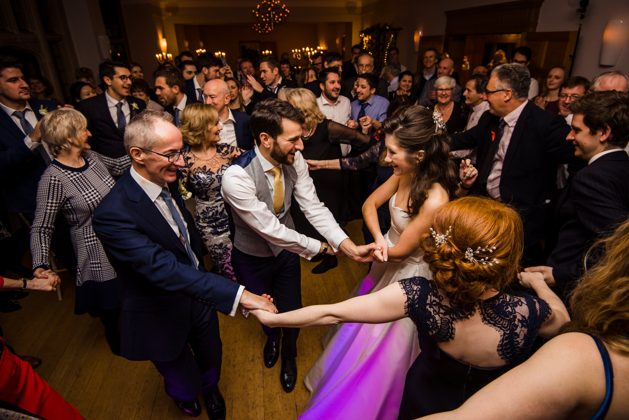 Coombe lodge wedding dancing