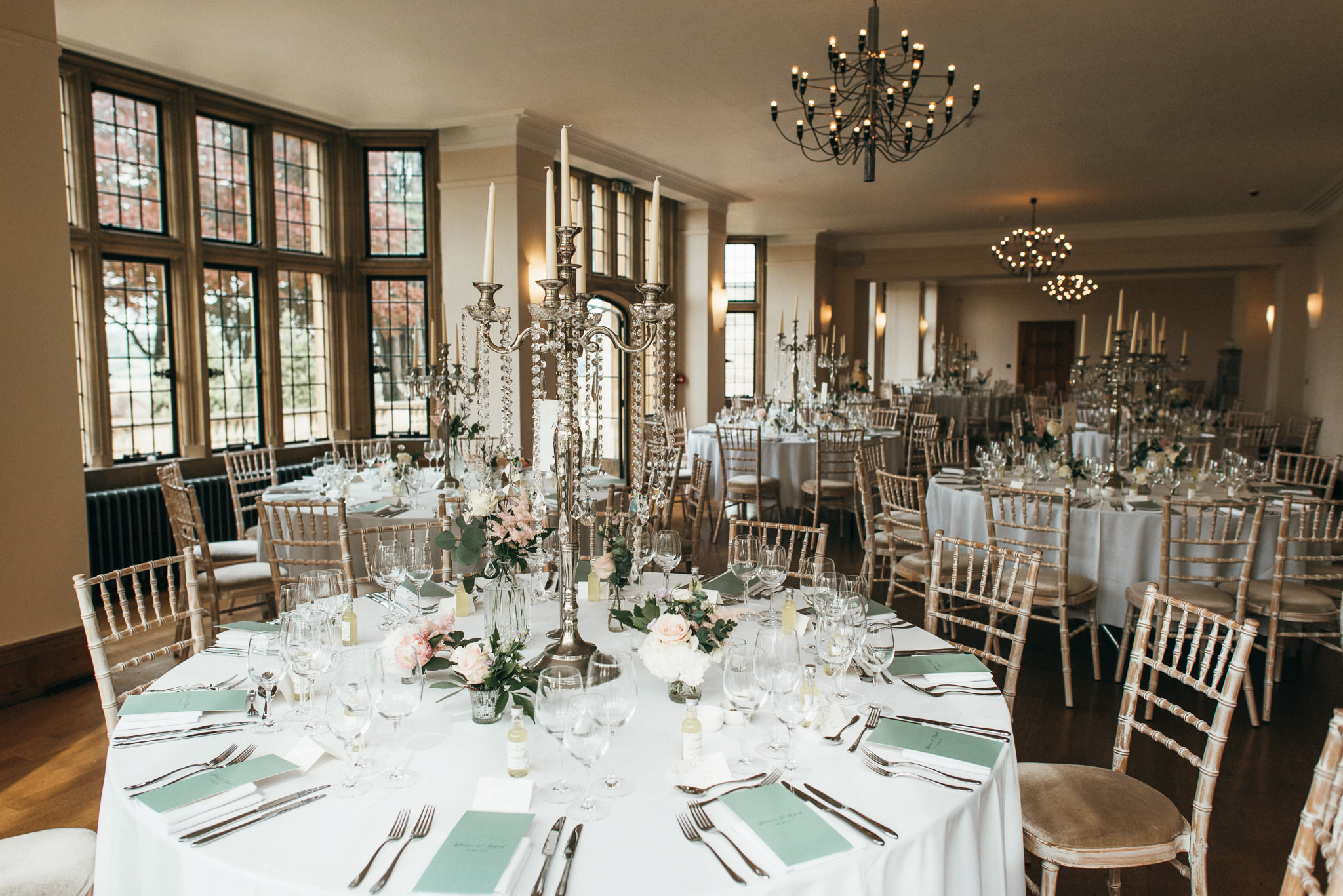Coombe lodge wedding breakfast