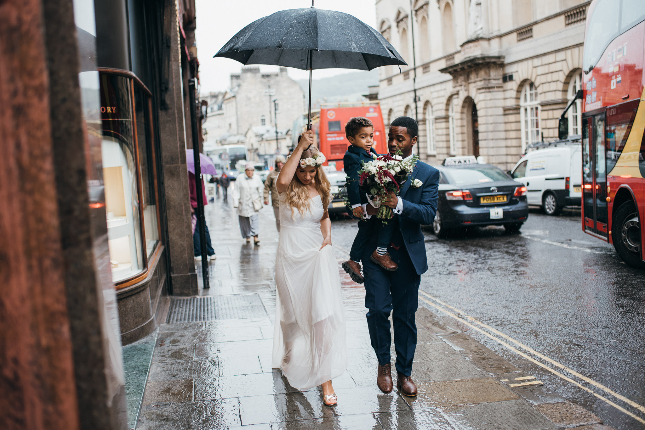 Elopement photographer Bath
