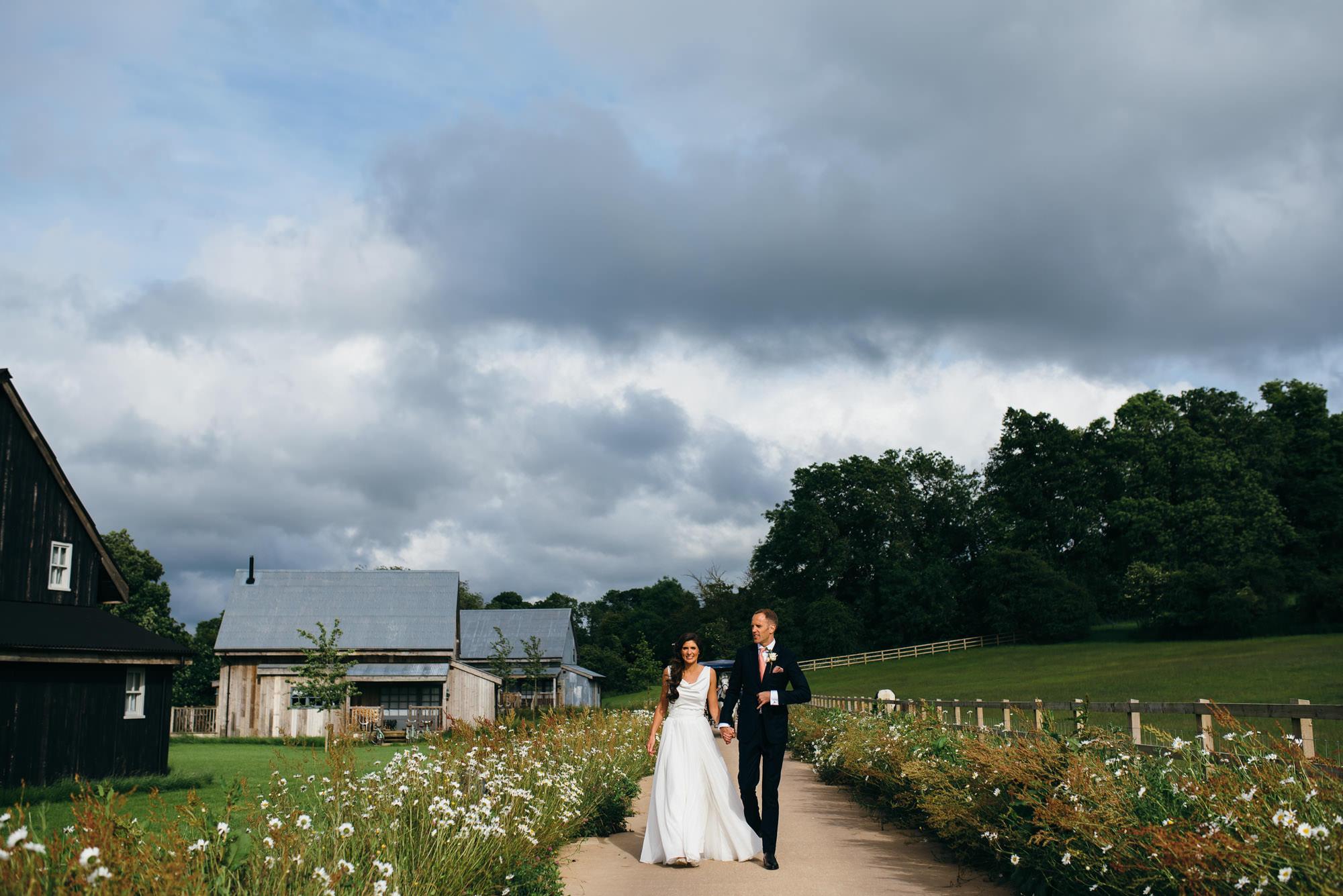 Soho farmhouse unposed wedding photography