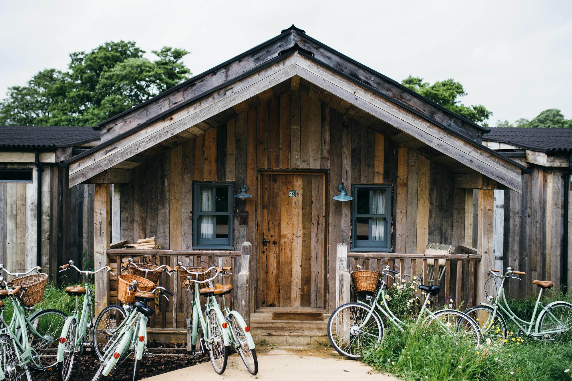 Soho farmhouse luxury cabin