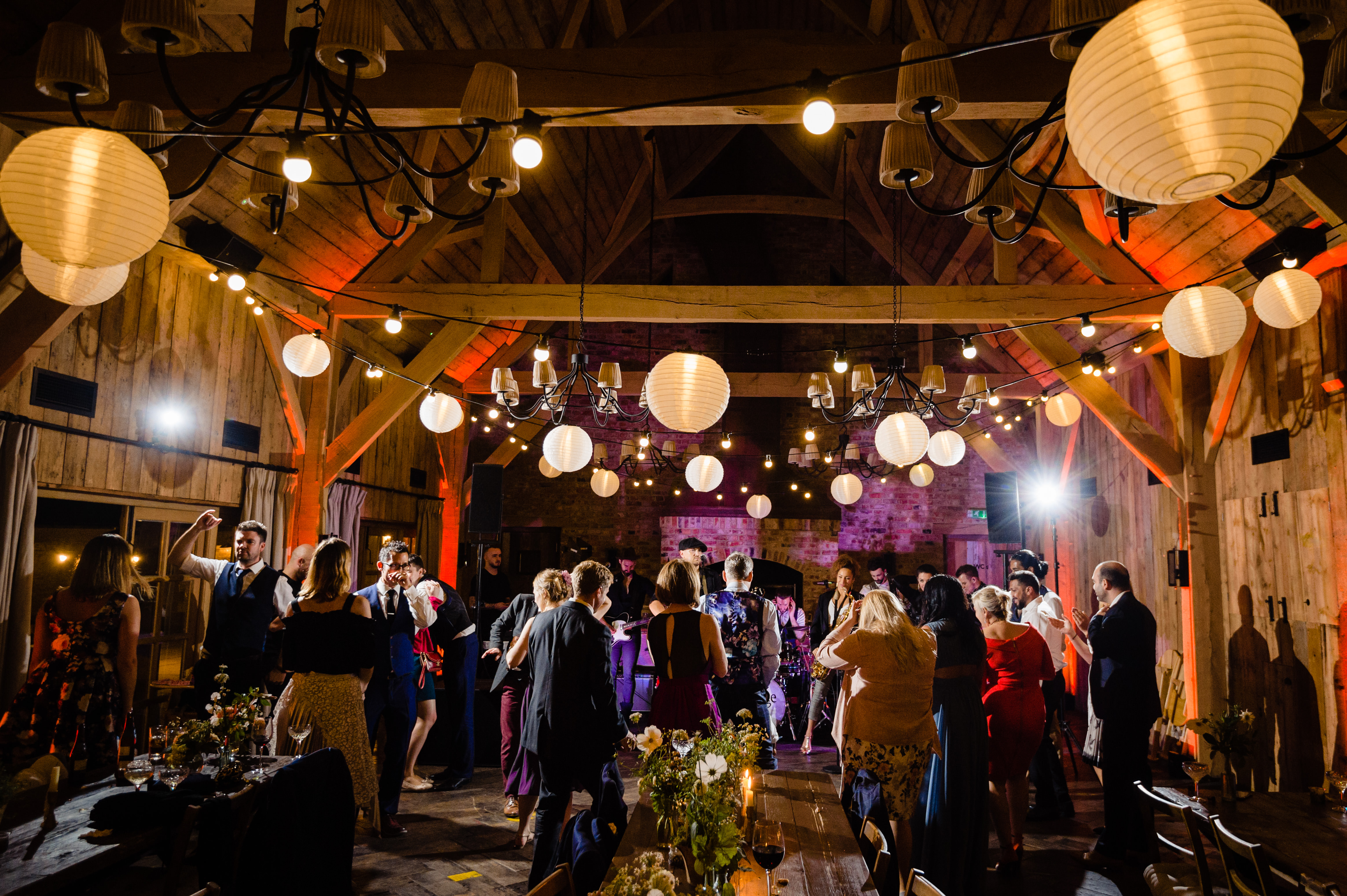 Soho farmhouse wedding dancing