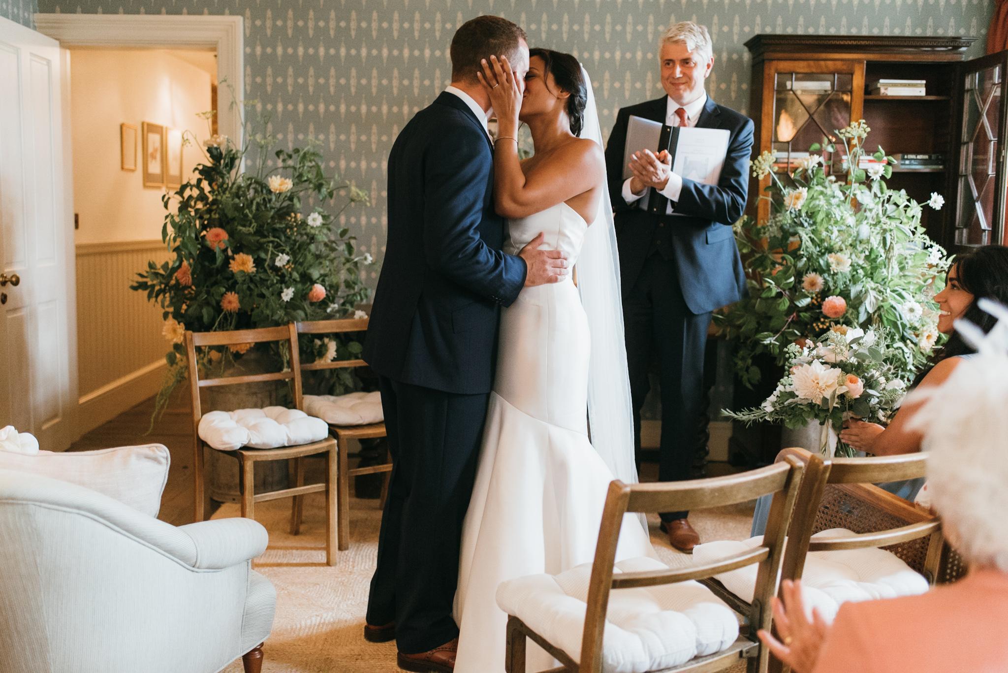 Soho farmhouse wedding ceremony