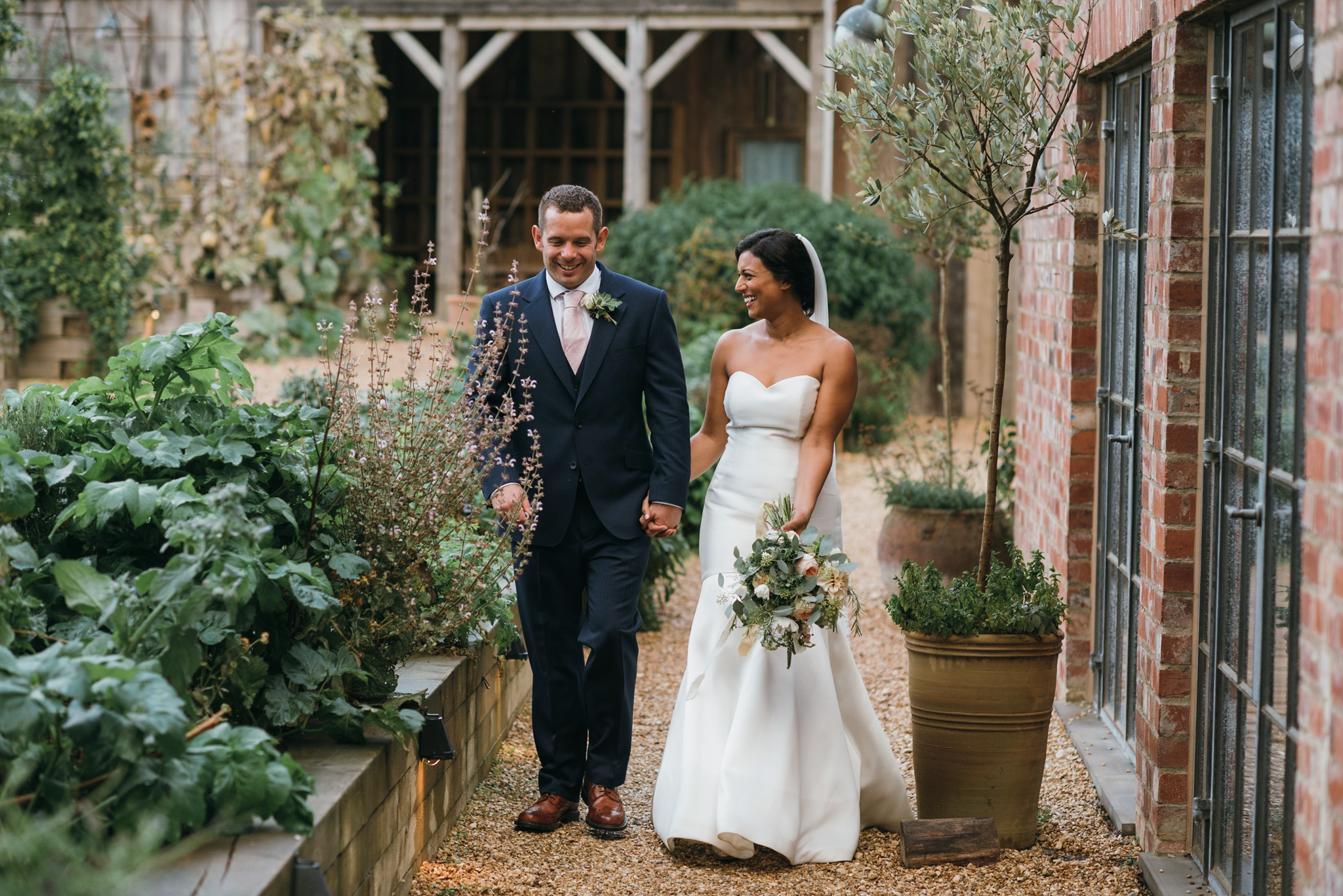 unposed wedding photography Soho farmhouse