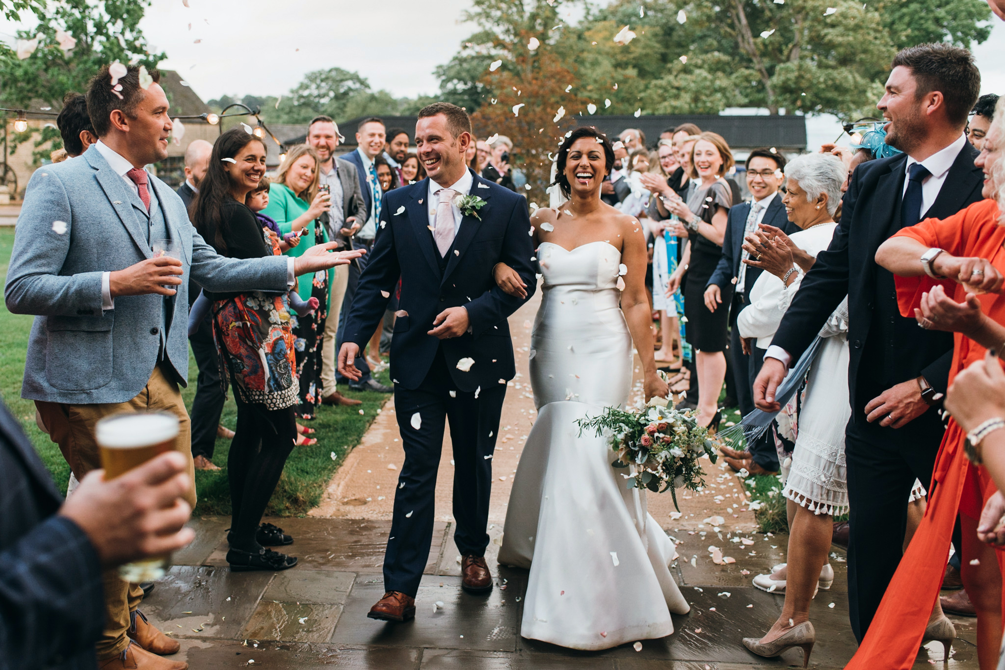 Soho farmhouse wedding confetti