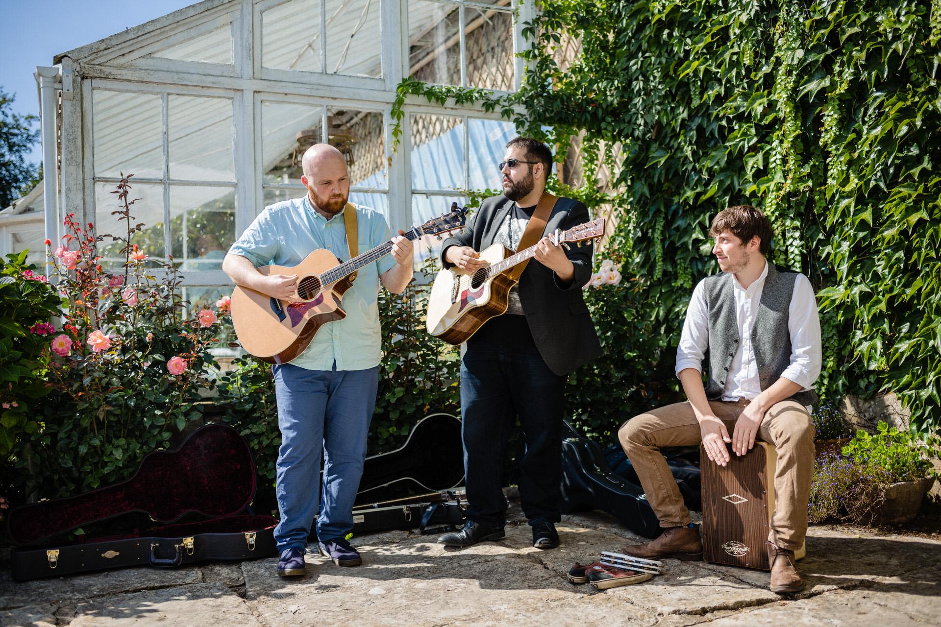 The Nameless Three band