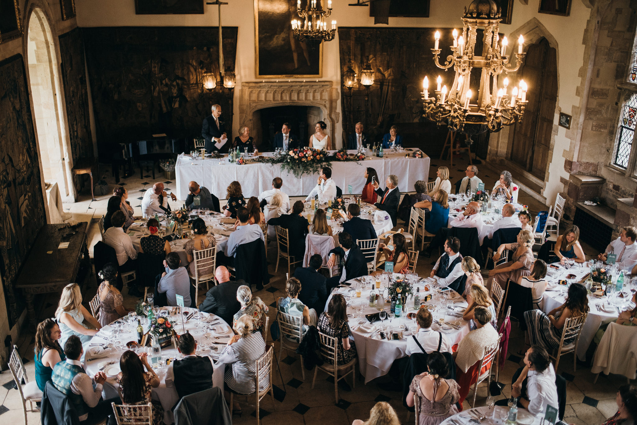 Berkeley castle wedding captured by simon biffen photography 15