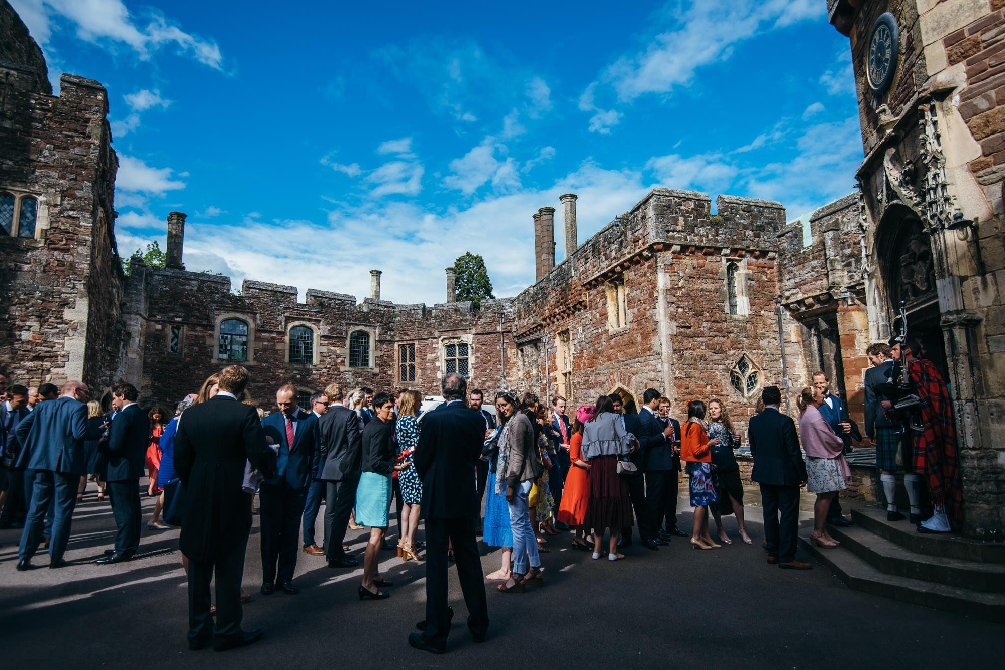 Berkeley castle wedding captured by simon biffen photography 2