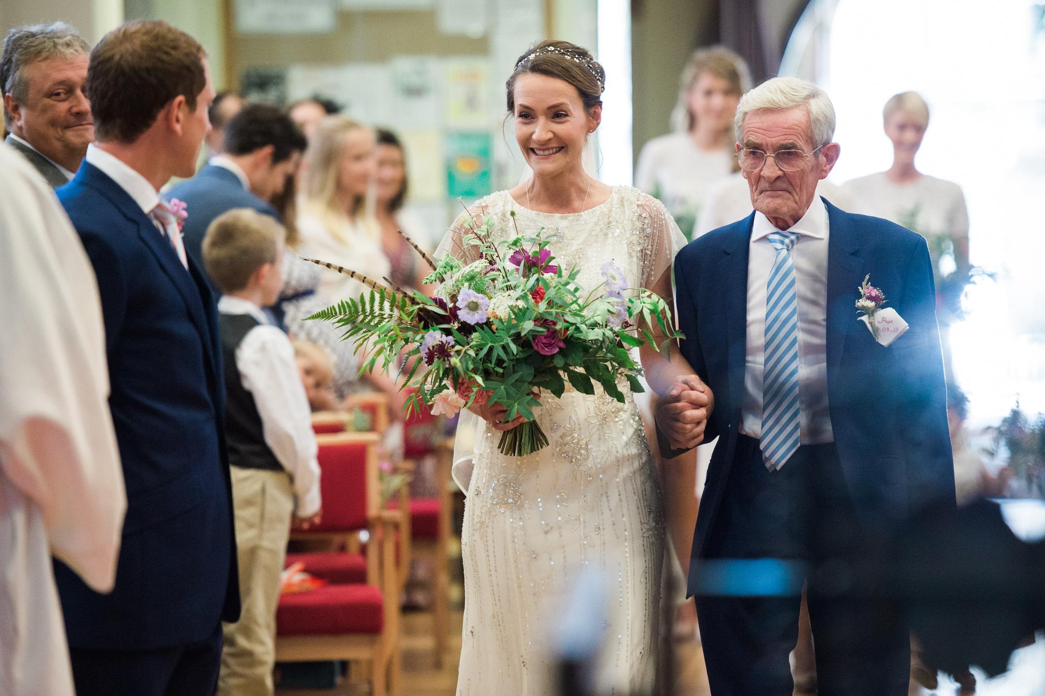 Salcombe devon marquee wedding by simon biffen photography 11