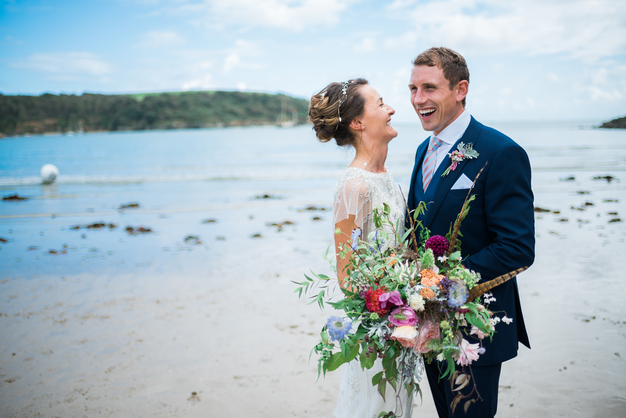 Salcombe devon marquee wedding by simon biffen photography 21