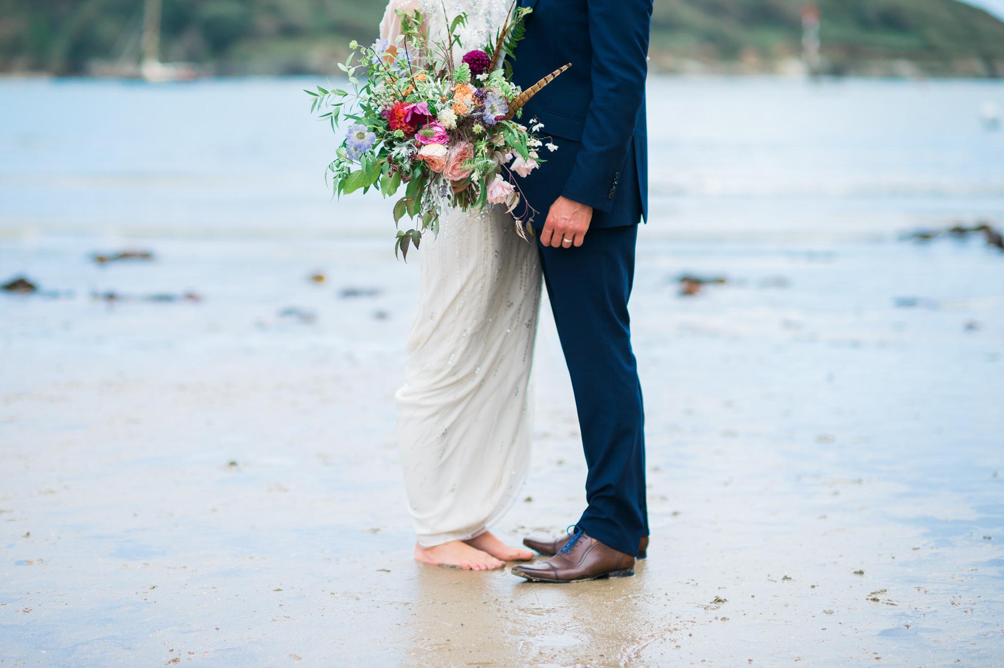 Salcombe devon marquee wedding by simon biffen photography 22