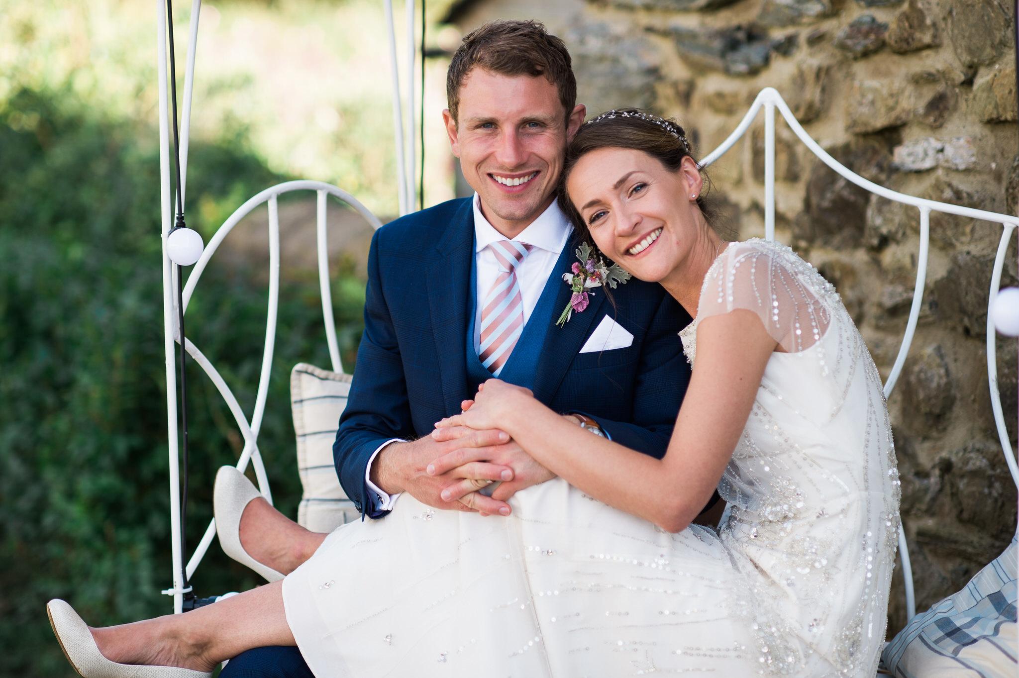 Salcombe devon marquee wedding by simon biffen photography 30