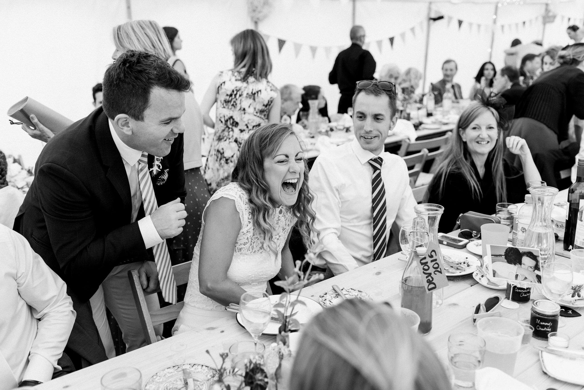 Salcombe devon marquee wedding by simon biffen photography 32