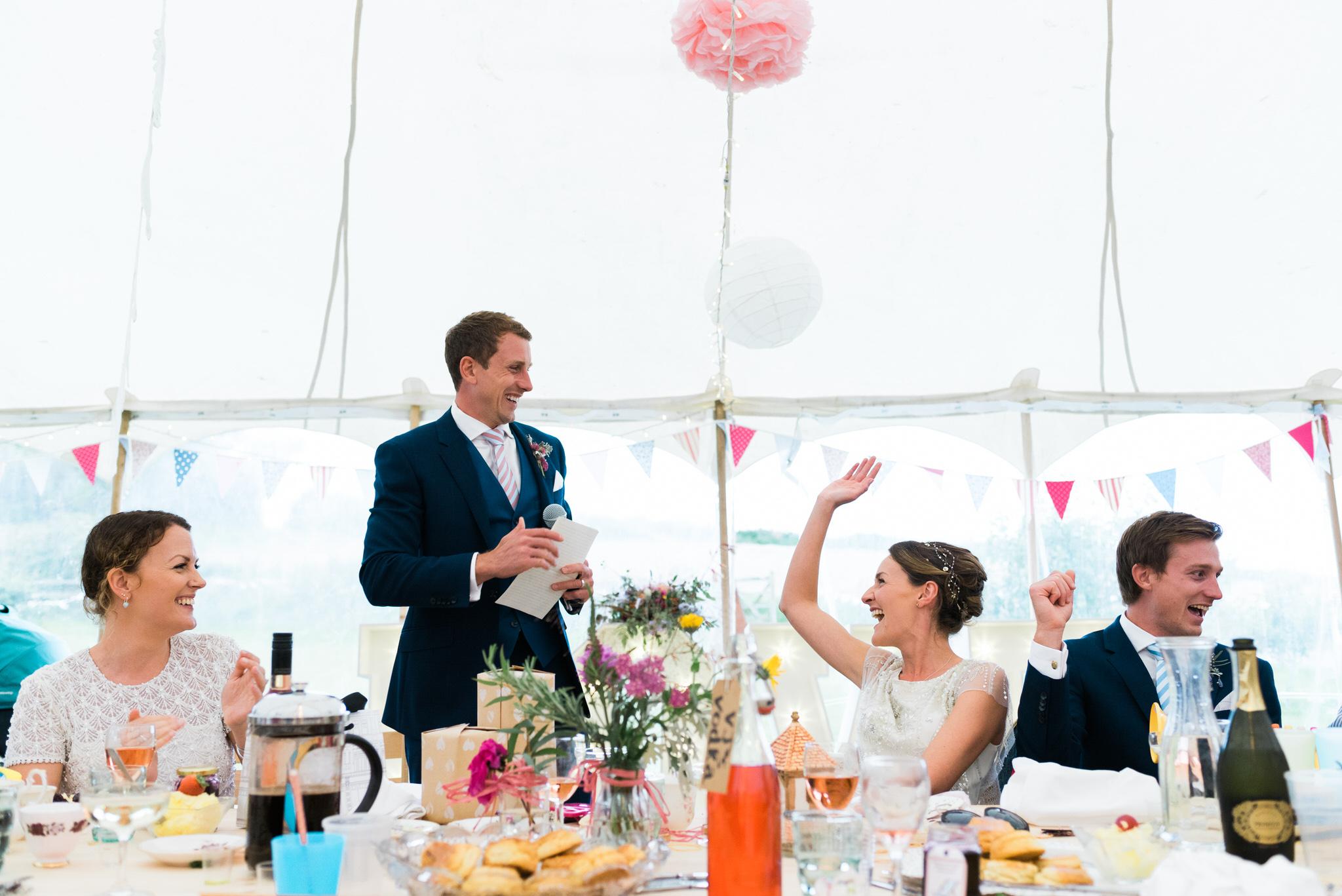 Salcombe devon marquee wedding by simon biffen photography 36