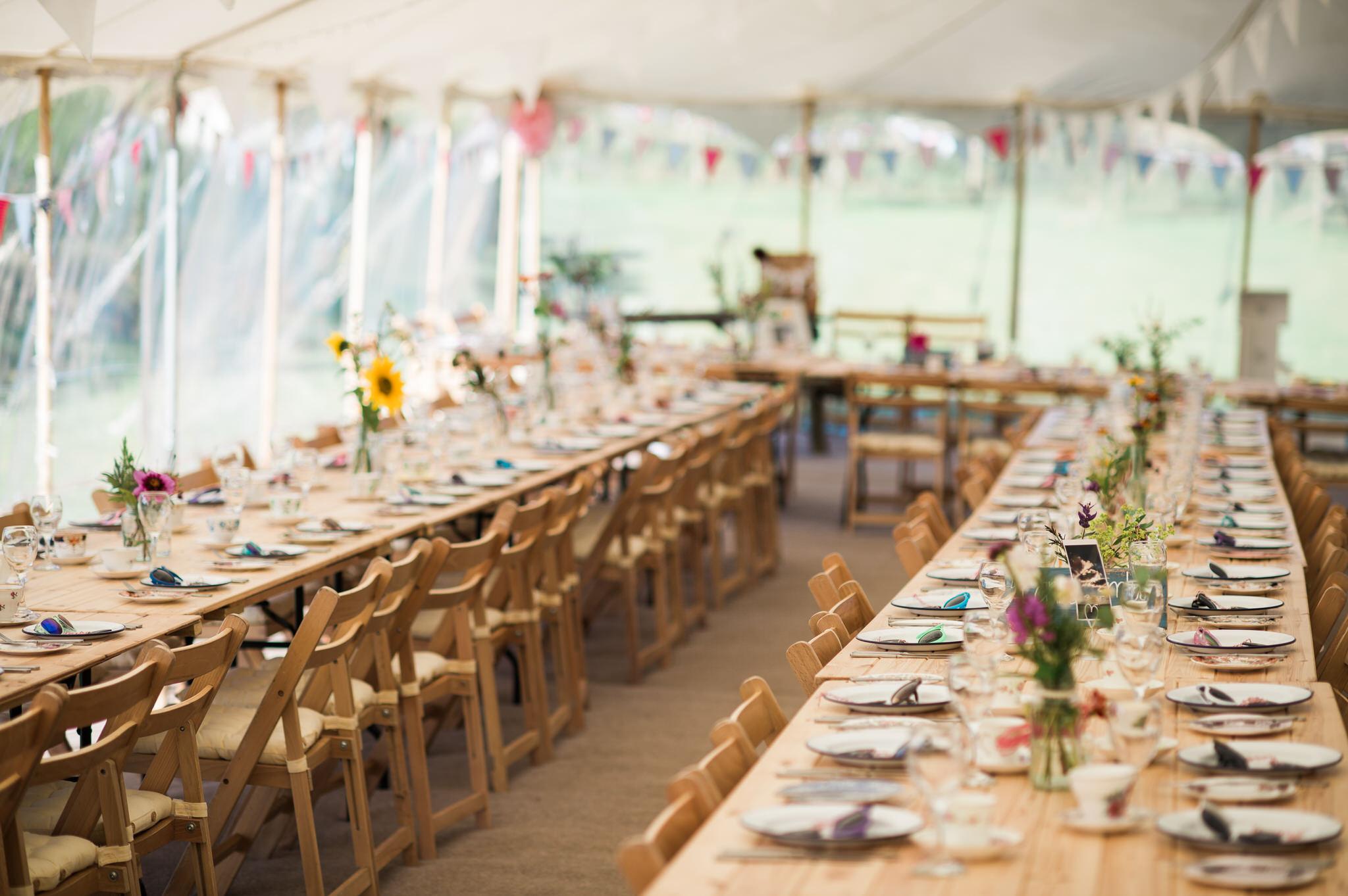 Salcombe devon marquee wedding by simon biffen photography 4