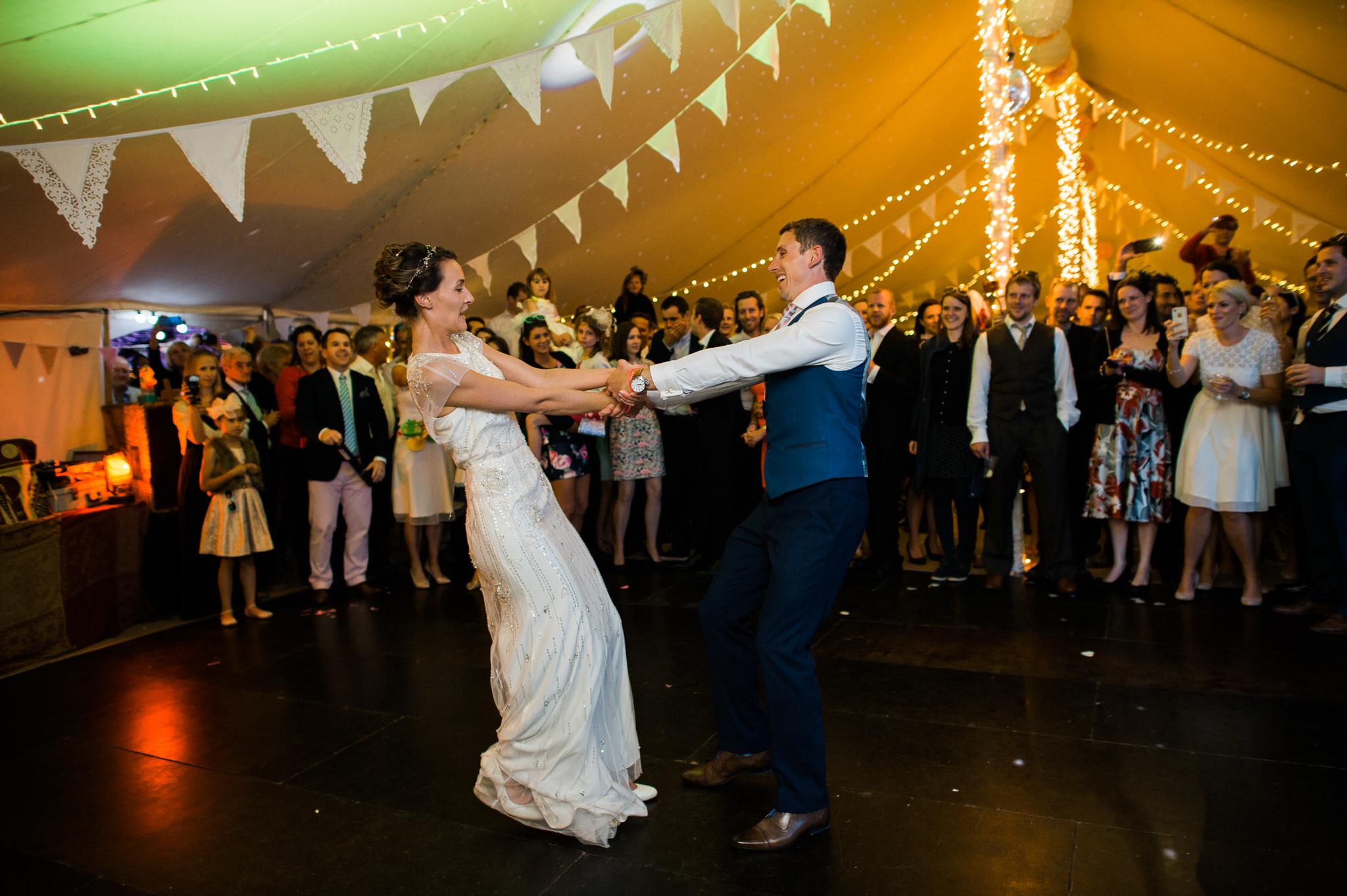 Salcombe devon marquee wedding by simon biffen photography 40