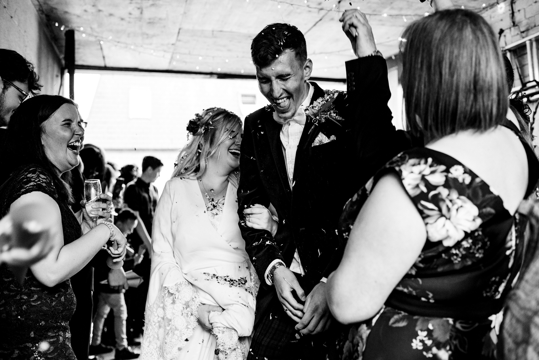 Hagglers corner sheffield wedding by simon biffen 32
