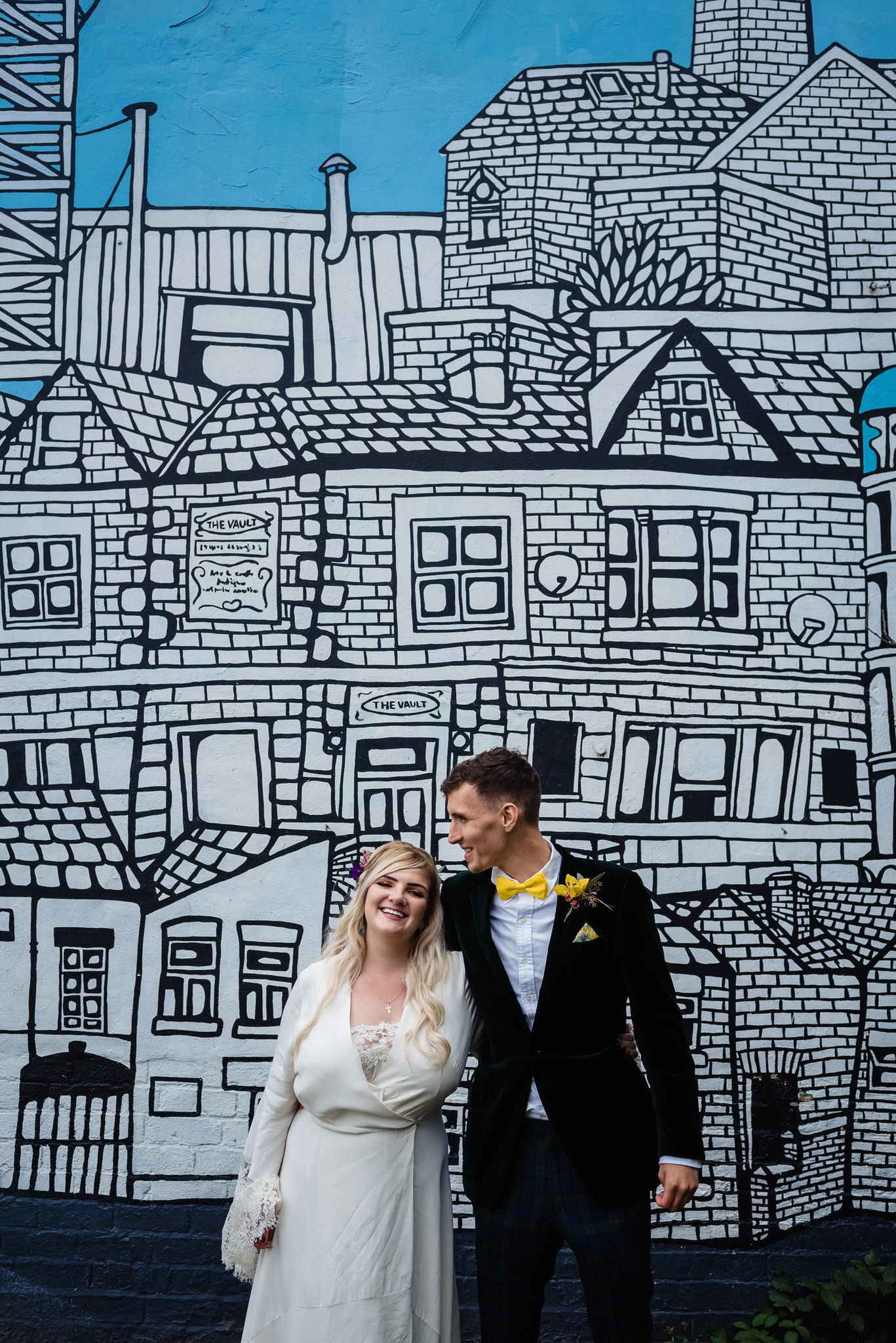 Hagglers corner sheffield wedding by simon biffen 35