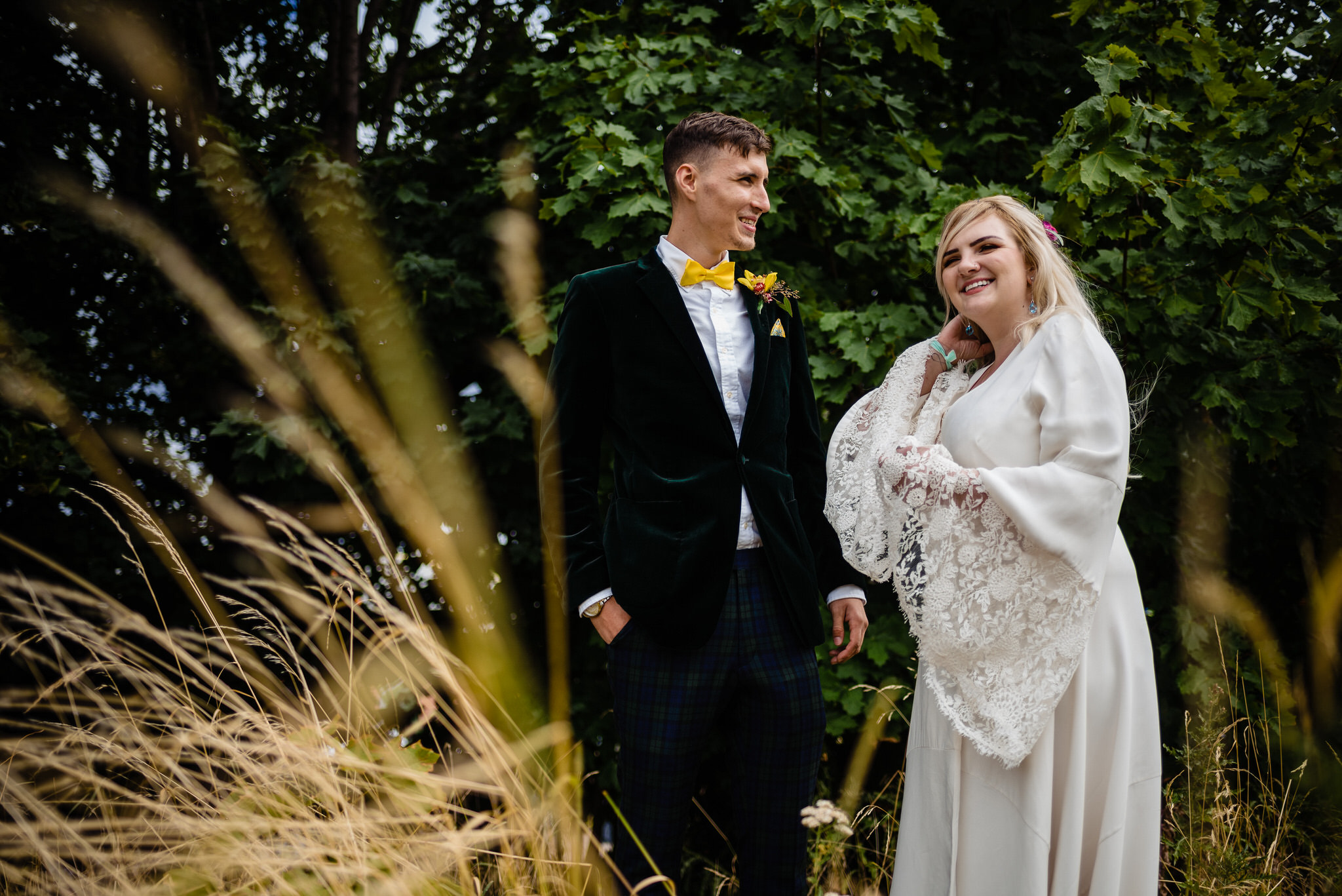 Hagglers corner sheffield wedding by simon biffen 37