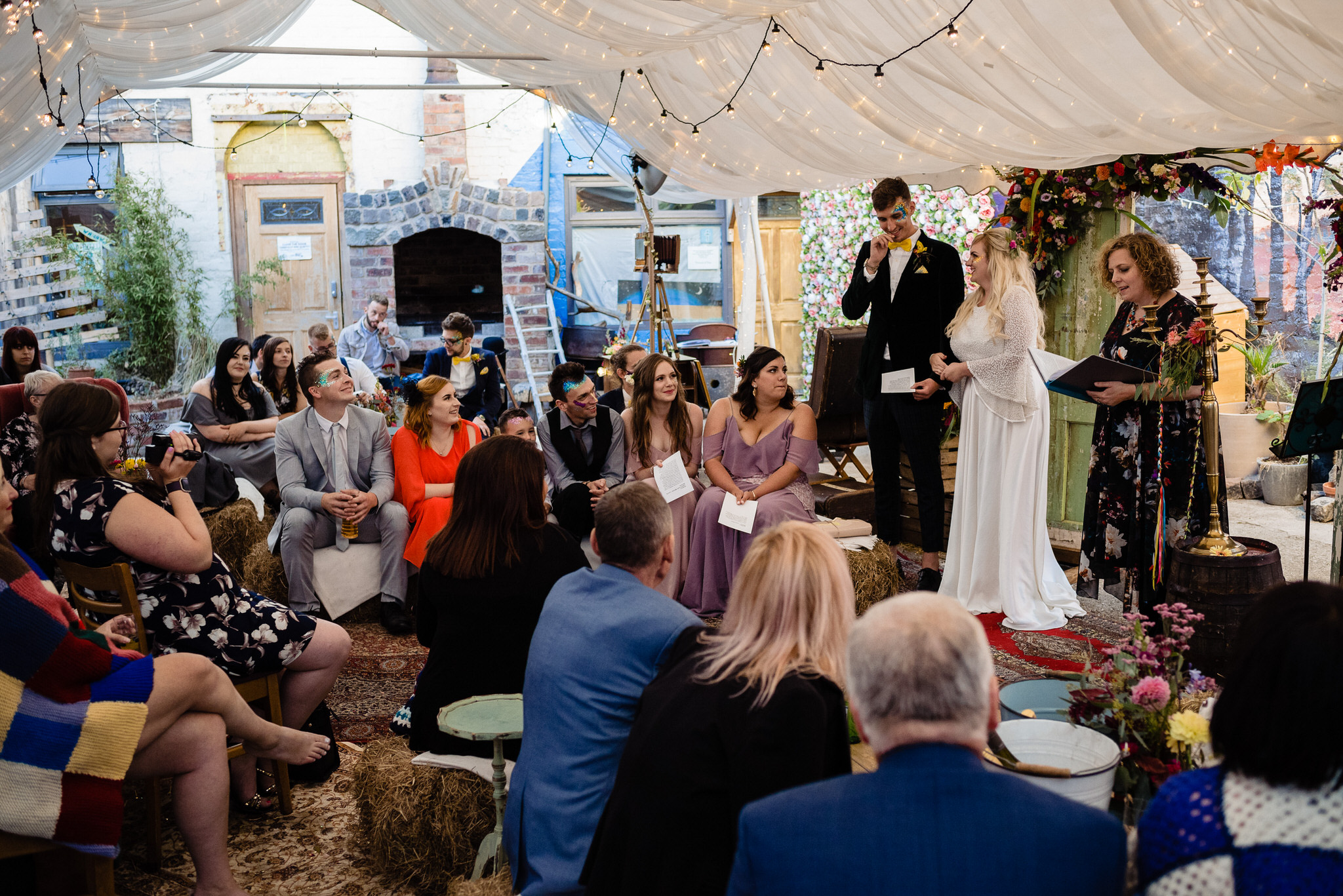 Hagglers corner sheffield wedding by simon biffen 55