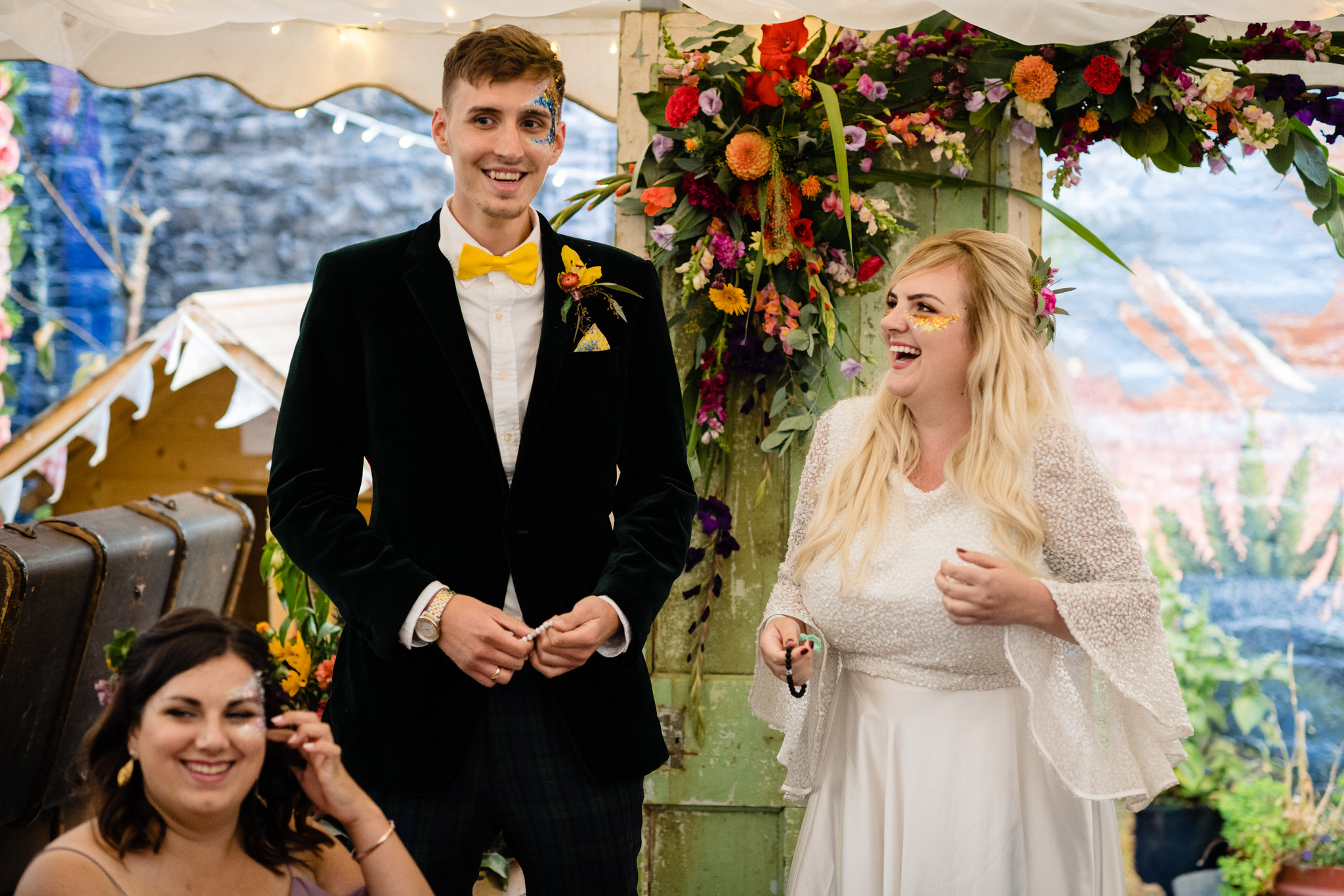 Hagglers corner sheffield wedding by simon biffen 56