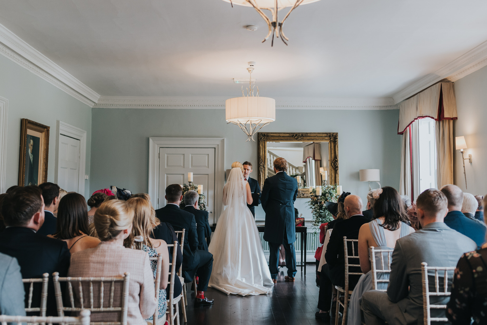 Morden Hall willow suite wedding ceremony