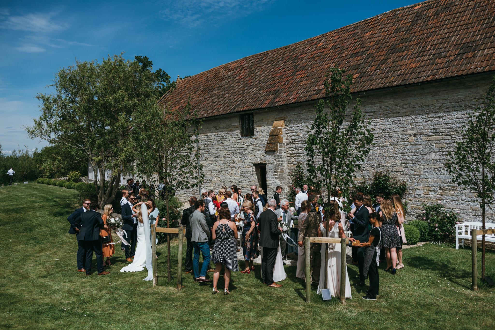 Almonry wedding reception