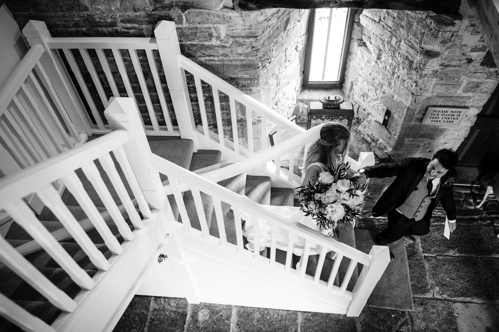natural Almonry Barn wedding photography