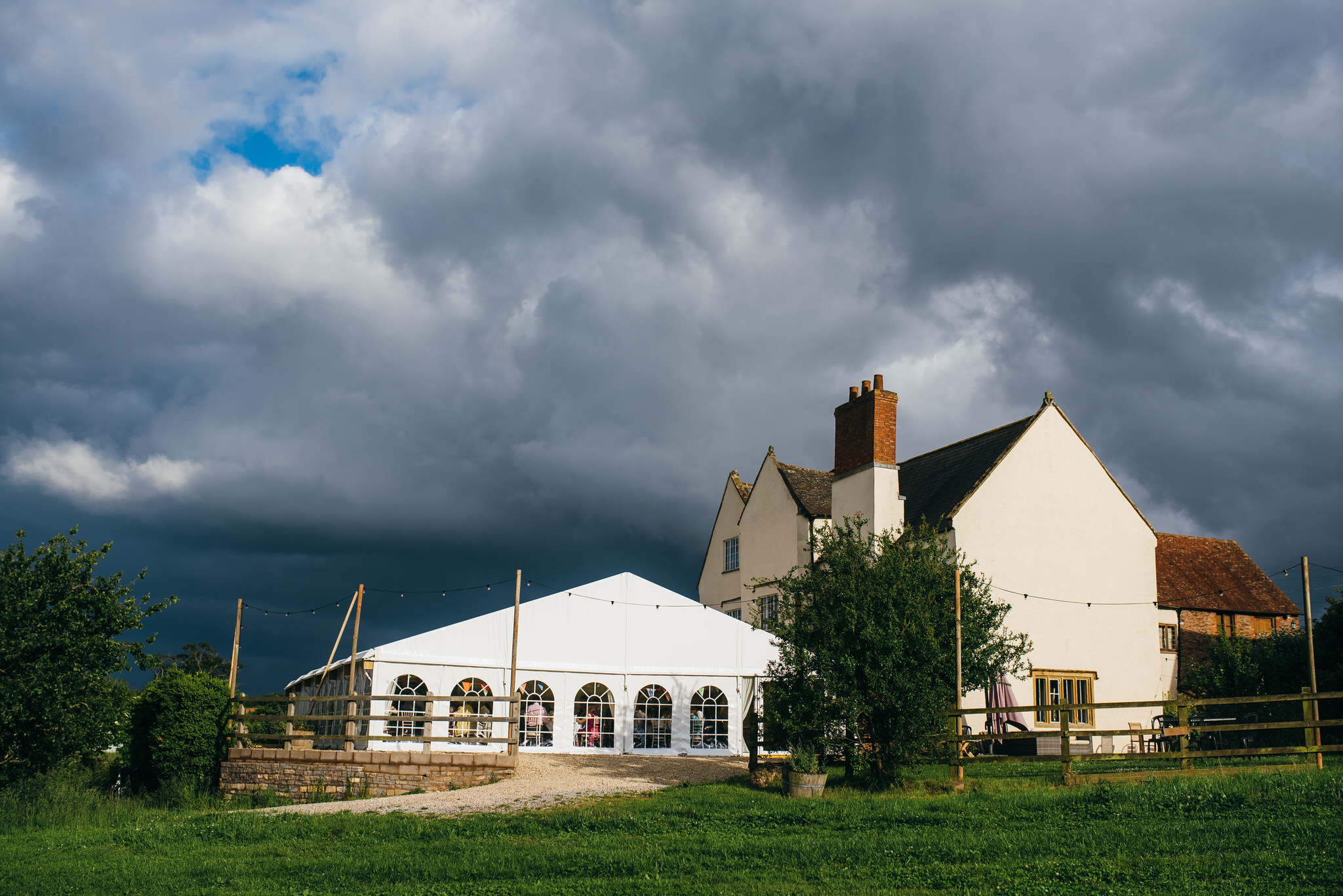 Huntstile organic farm wedding venue
