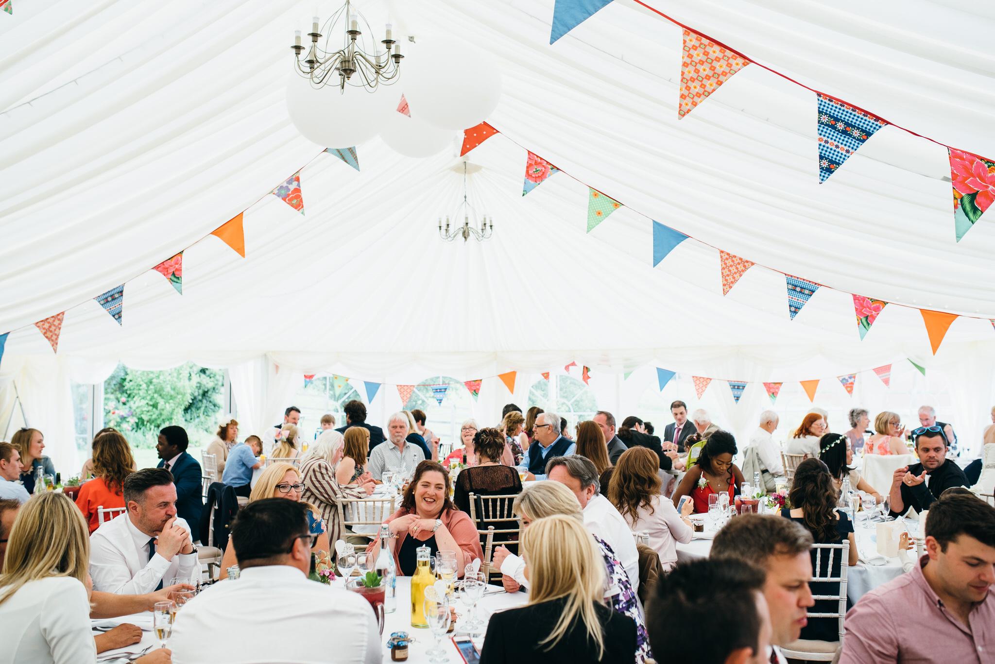 Huntstile organic farm weddings marquee