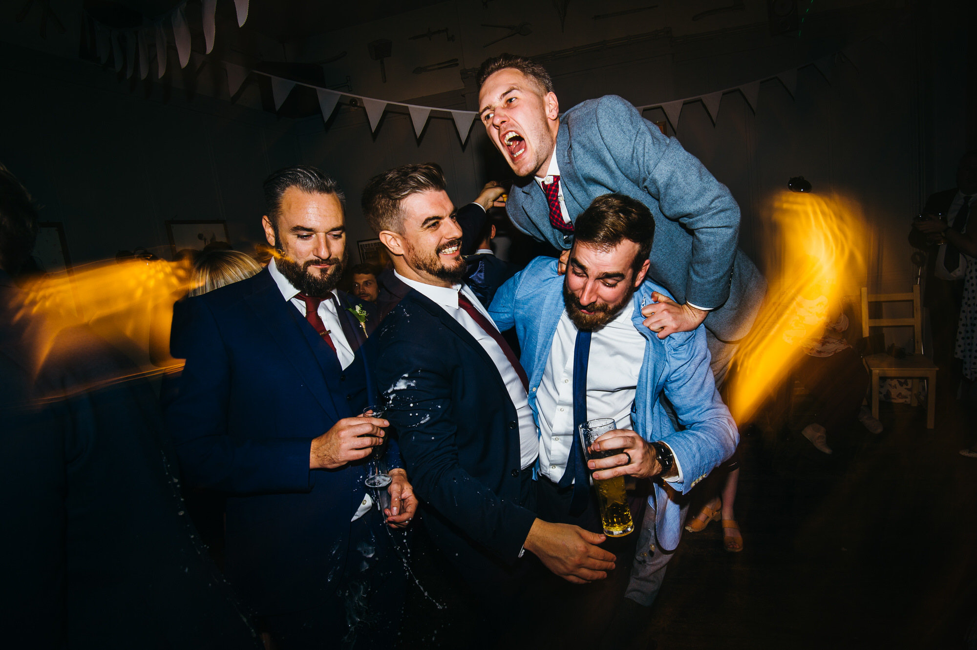 Fun pub wedding in London
