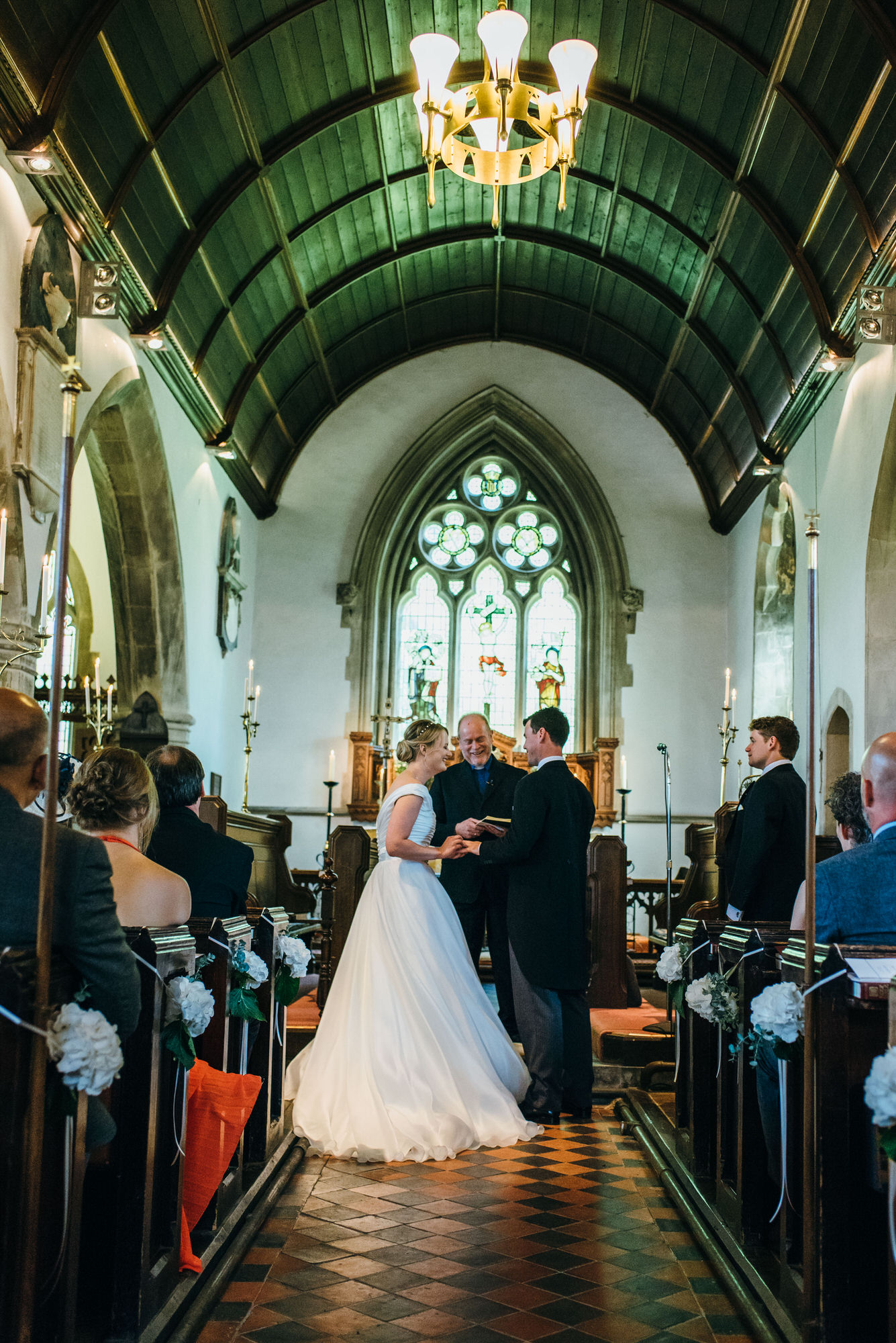 Bath church wedding photography
