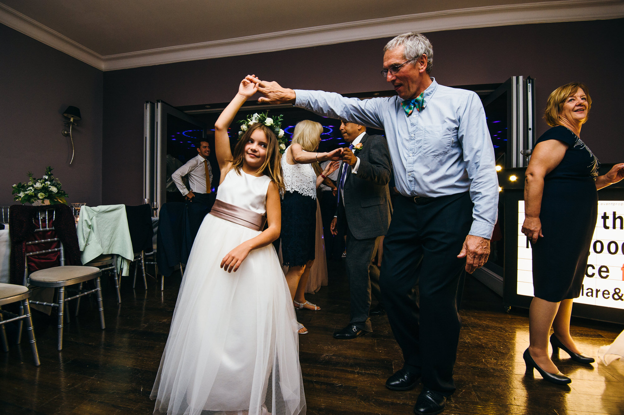 Homewood Park Bath wedding dancing