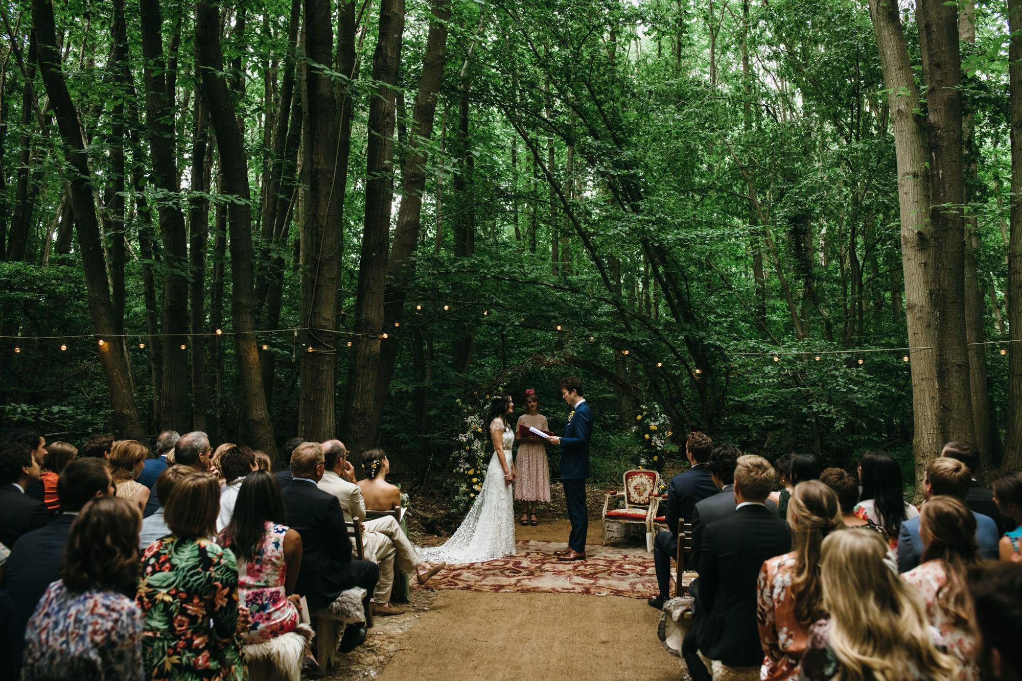 The dreys wedding ceremony