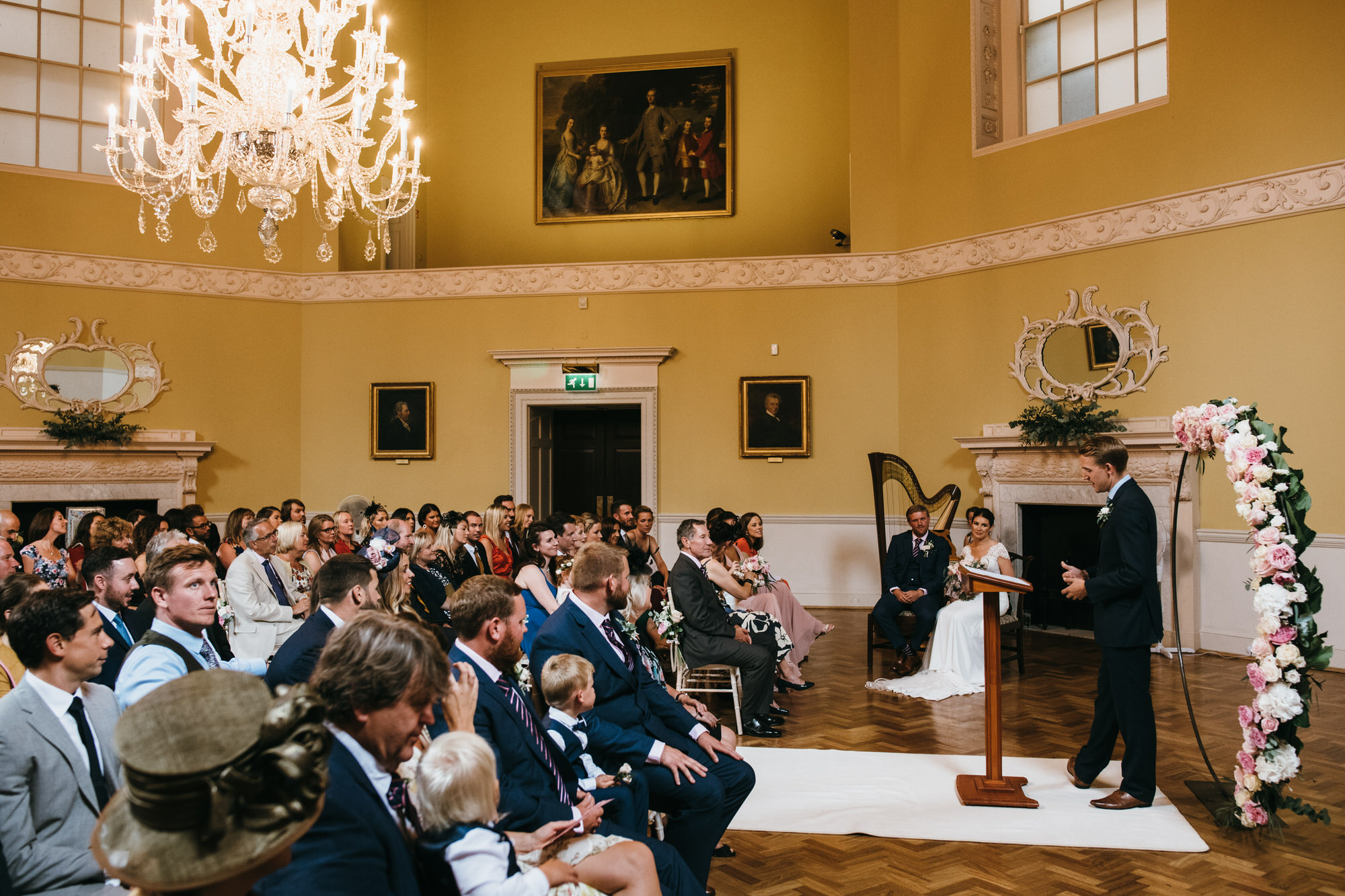 Assembly rooms bath wedding venue simon biffen photography 2