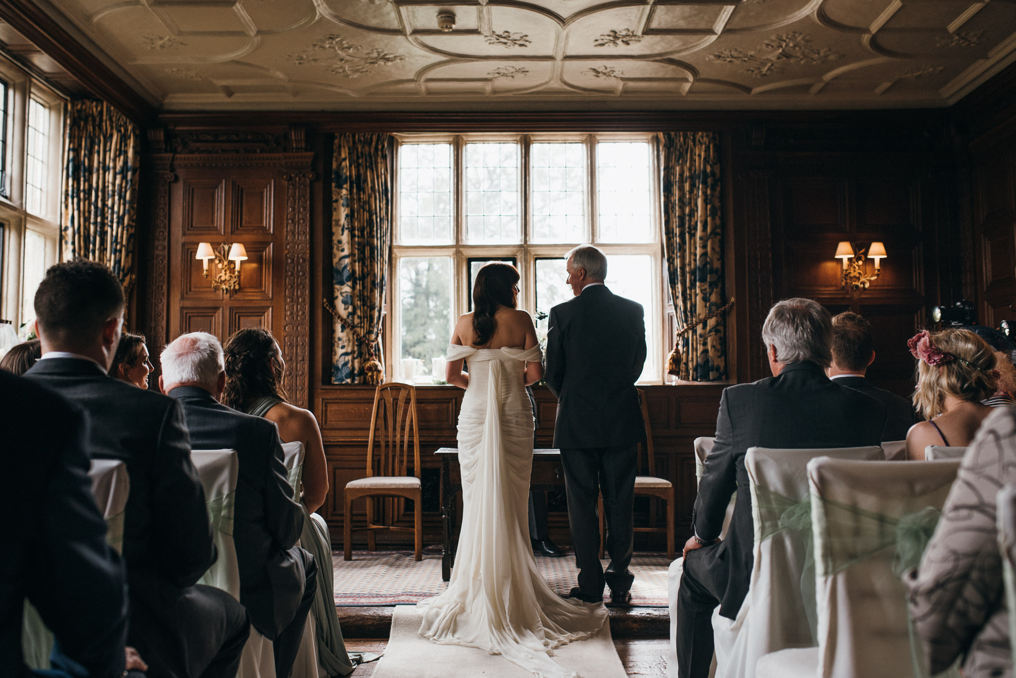 Gravetye Manor wedding ceremony