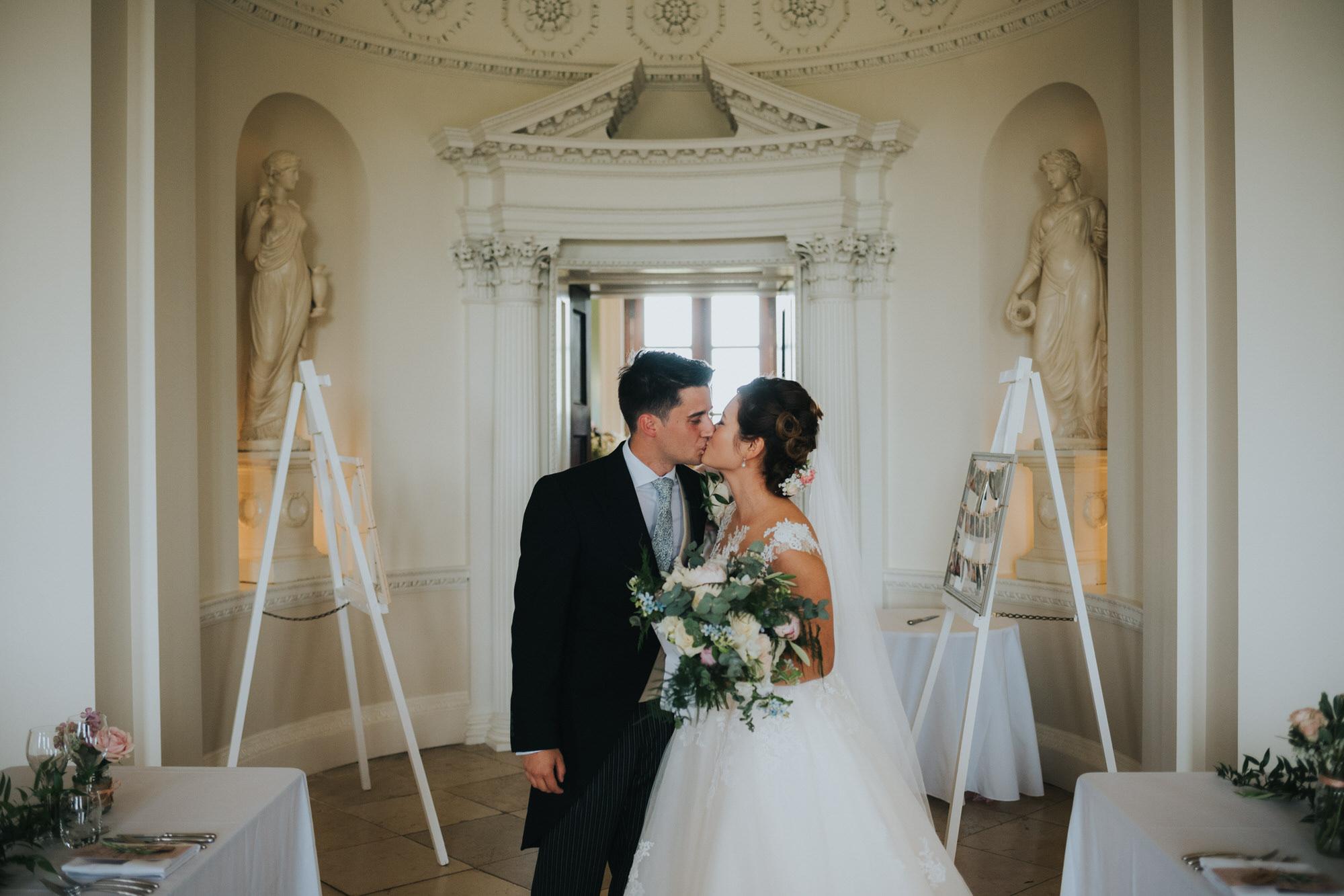 Just married at Kirtlington park