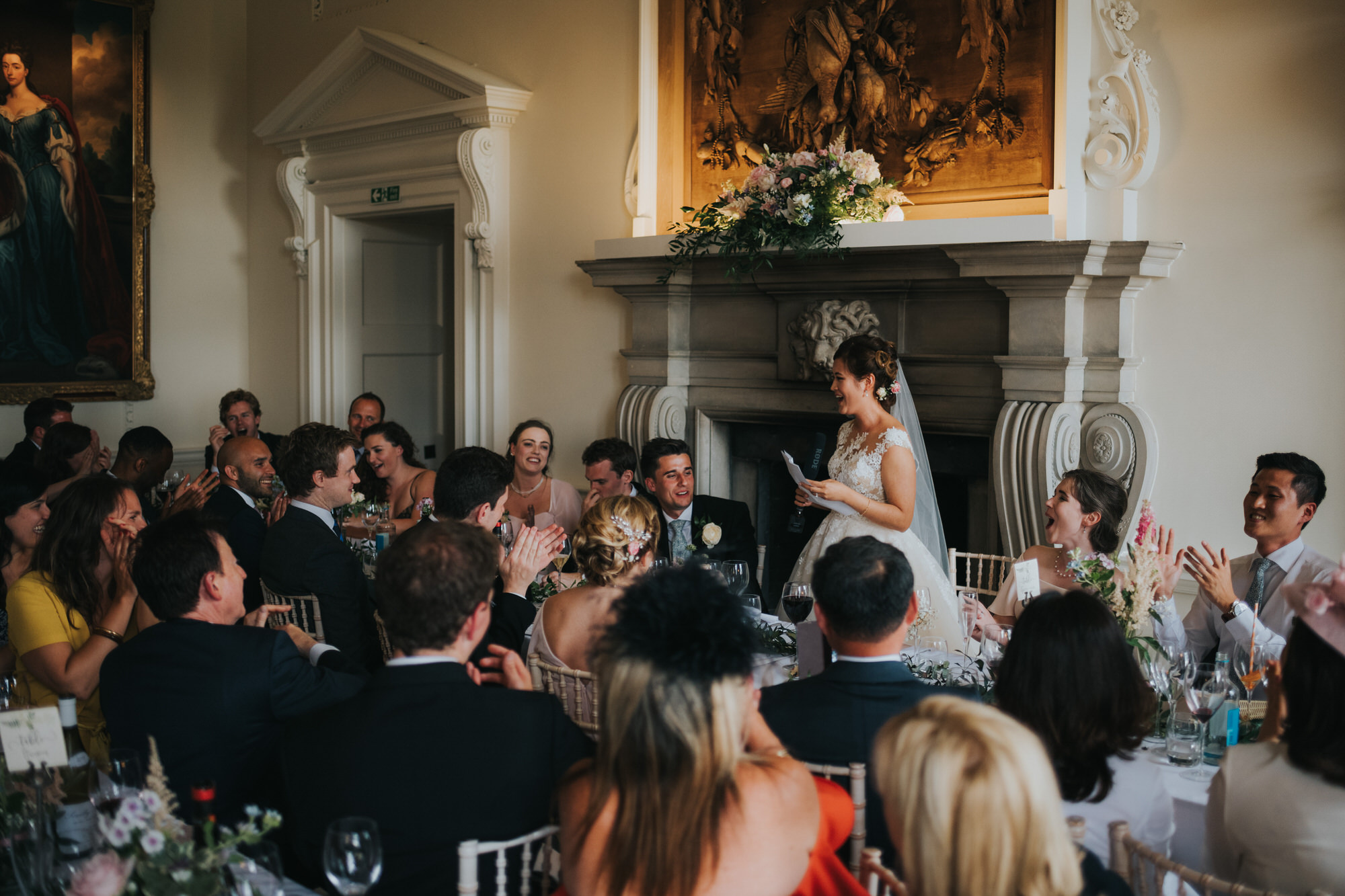 Kirtlington park wedding speeches