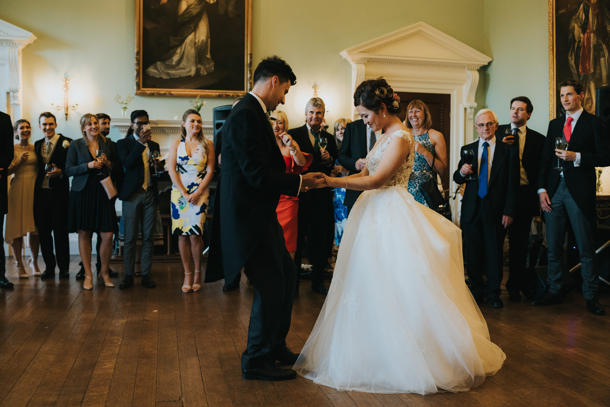 First dance Kirtlington park wedding