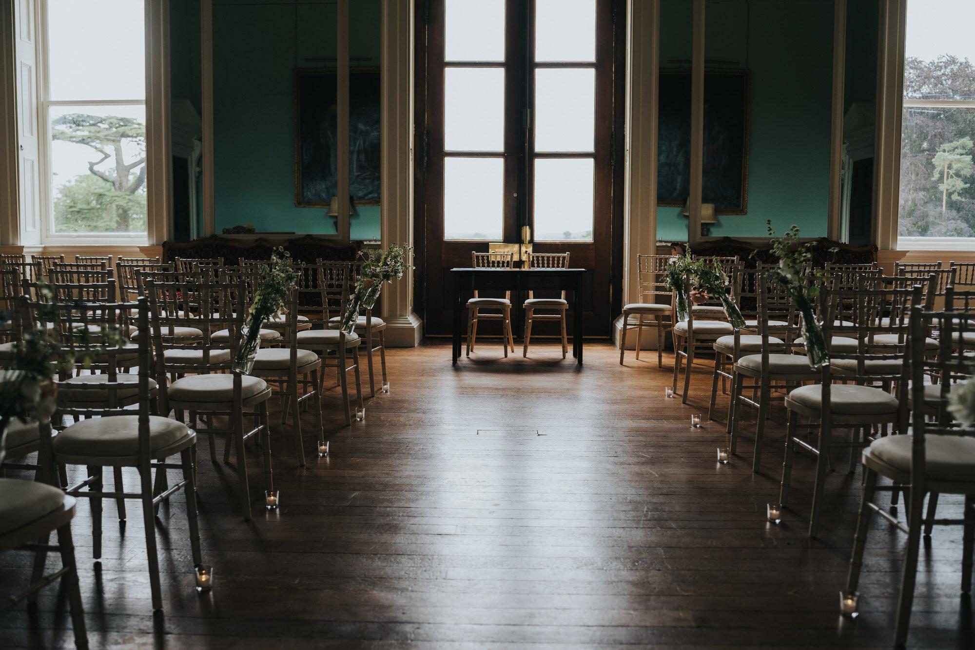 Kirtlington park ceremony room