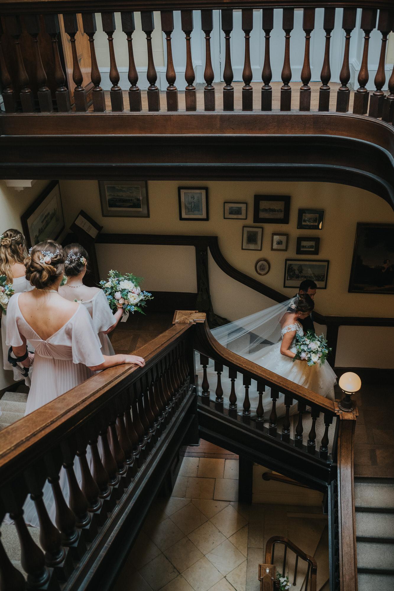 Kirtlington park staircase