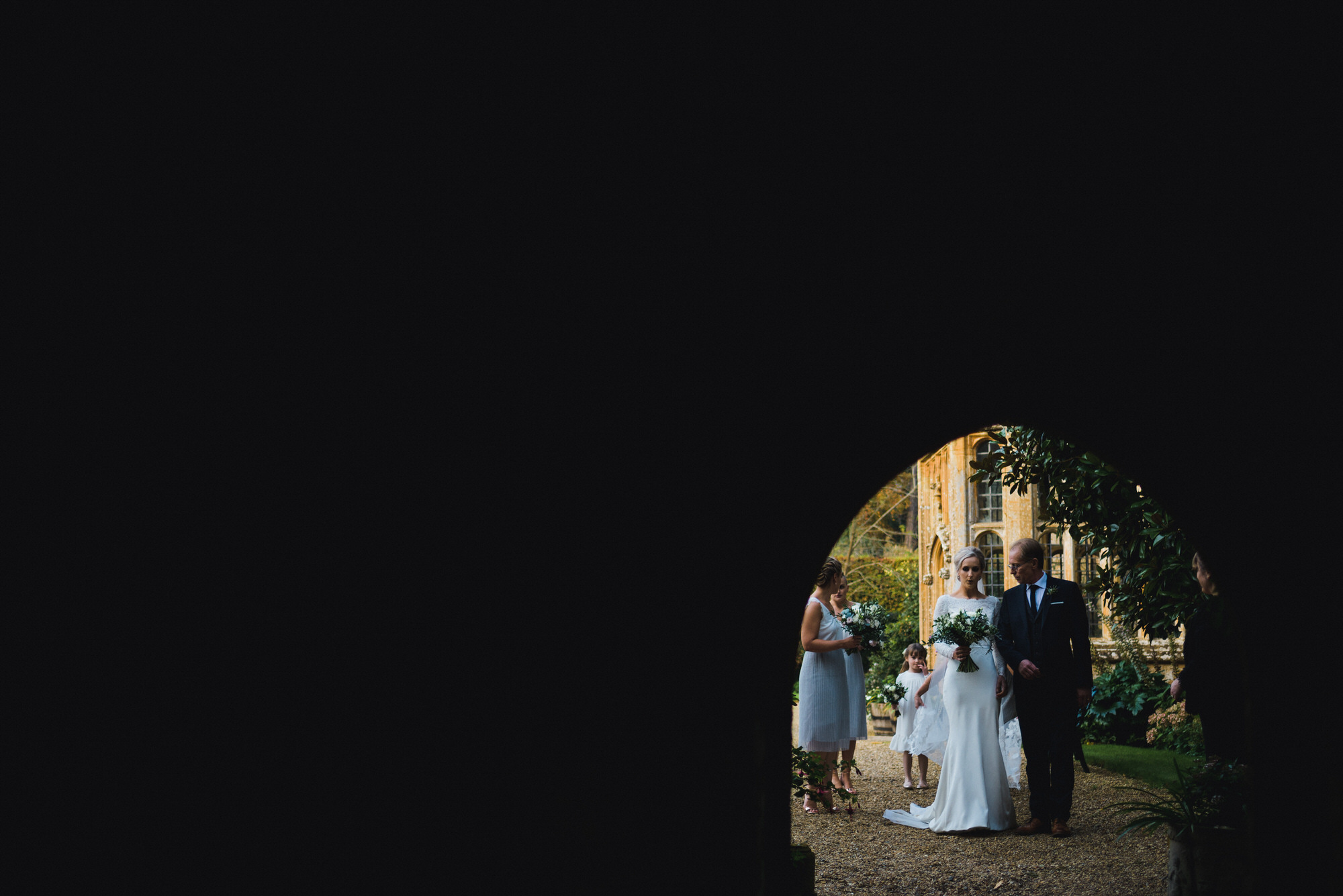 Brympton House wedding ceremony by simon biffen photography 17
