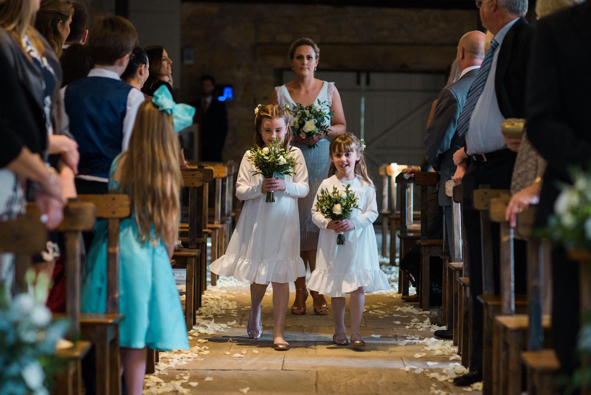 Brympton House wedding ceremony  by simon biffen photography 18