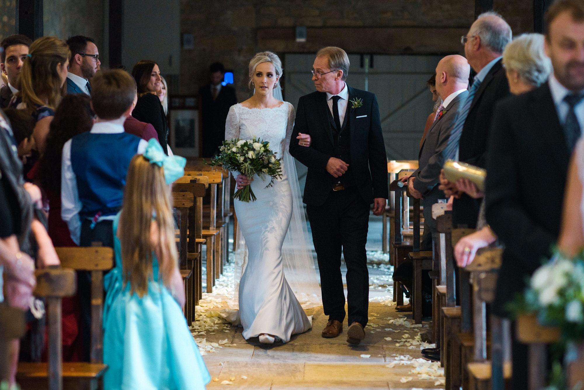 Brympton House wedding ceremony by simon biffen photography 19